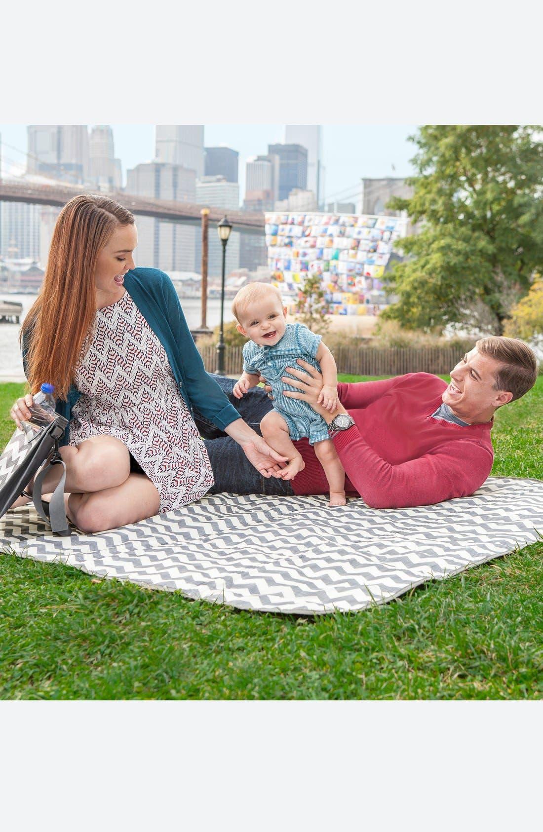 Alternate Image 7  - Skip Hop 'Central Park' Outdoor Blanket & Cooler Bag