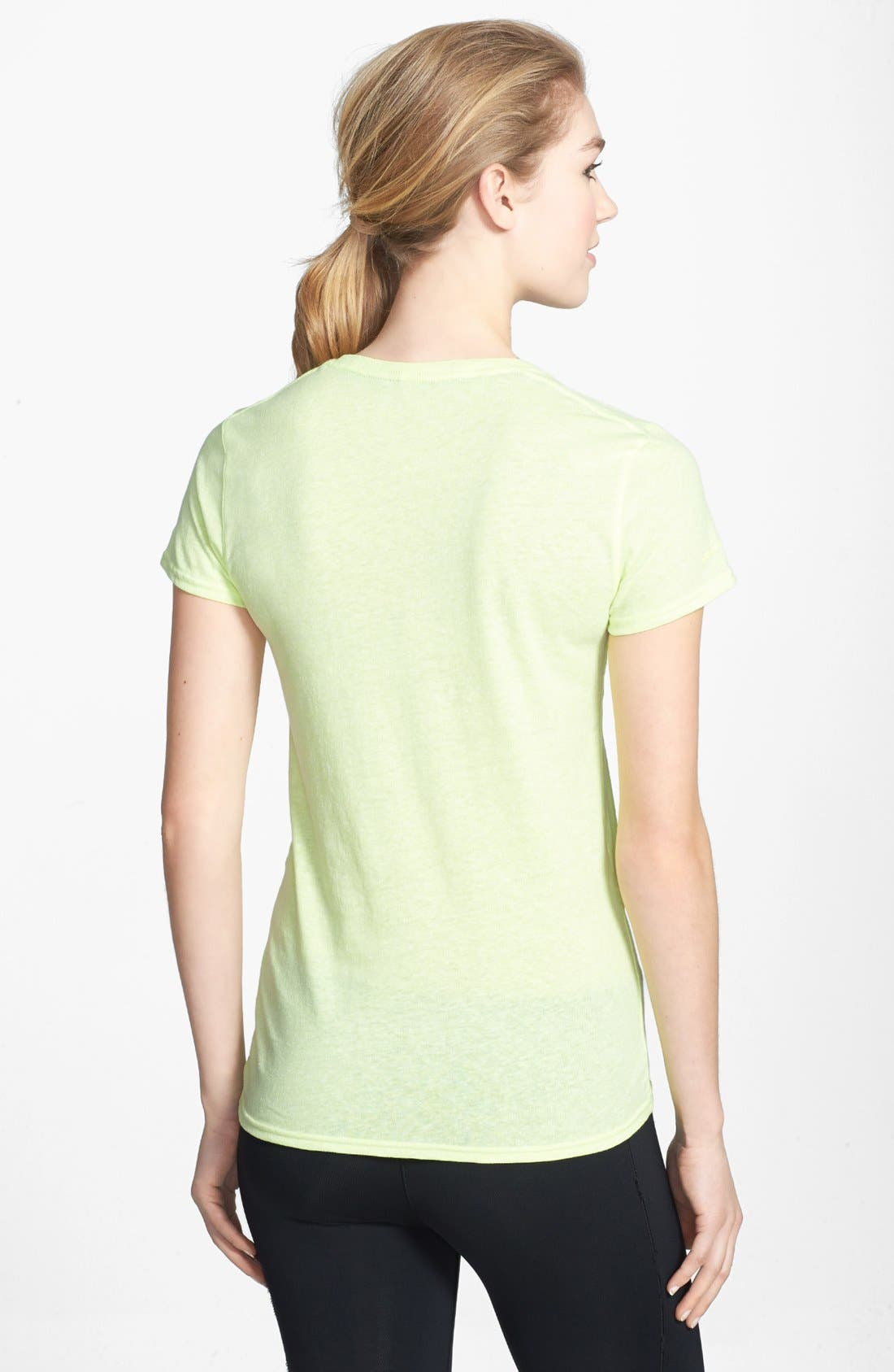 Alternate Image 2  - Under Armour 'Charged - Undeniable' HeatGear® Tee