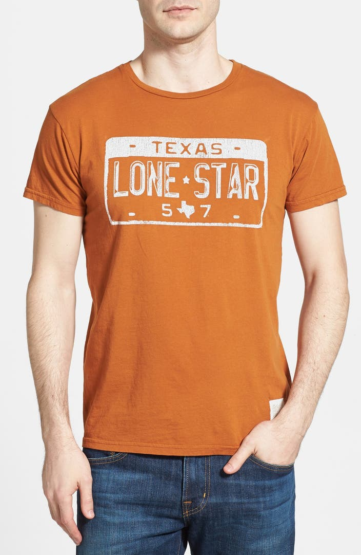 Retro brand 39 texas license plate 39 cotton t shirt nordstrom for T shirt licensing agreement