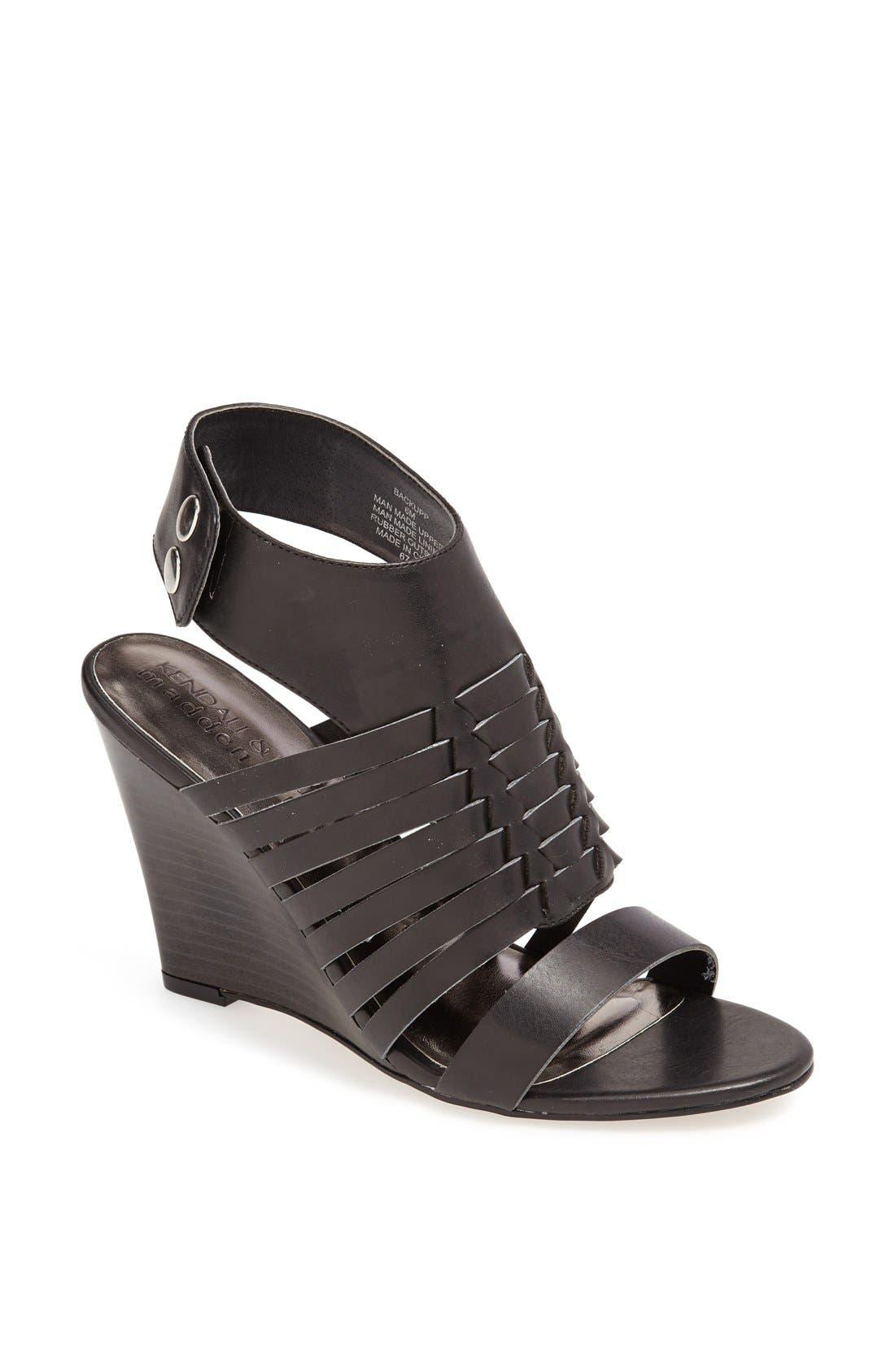 Alternate Image 1 Selected - KENDALL + KYLIE Madden Girl 'Backupp' Ankle Cuff Sandal