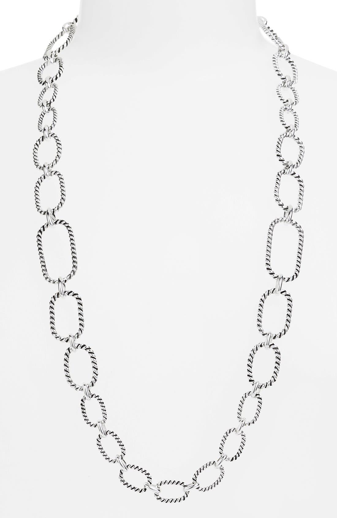 Main Image - Lauren Ralph Lauren Long Link Necklace