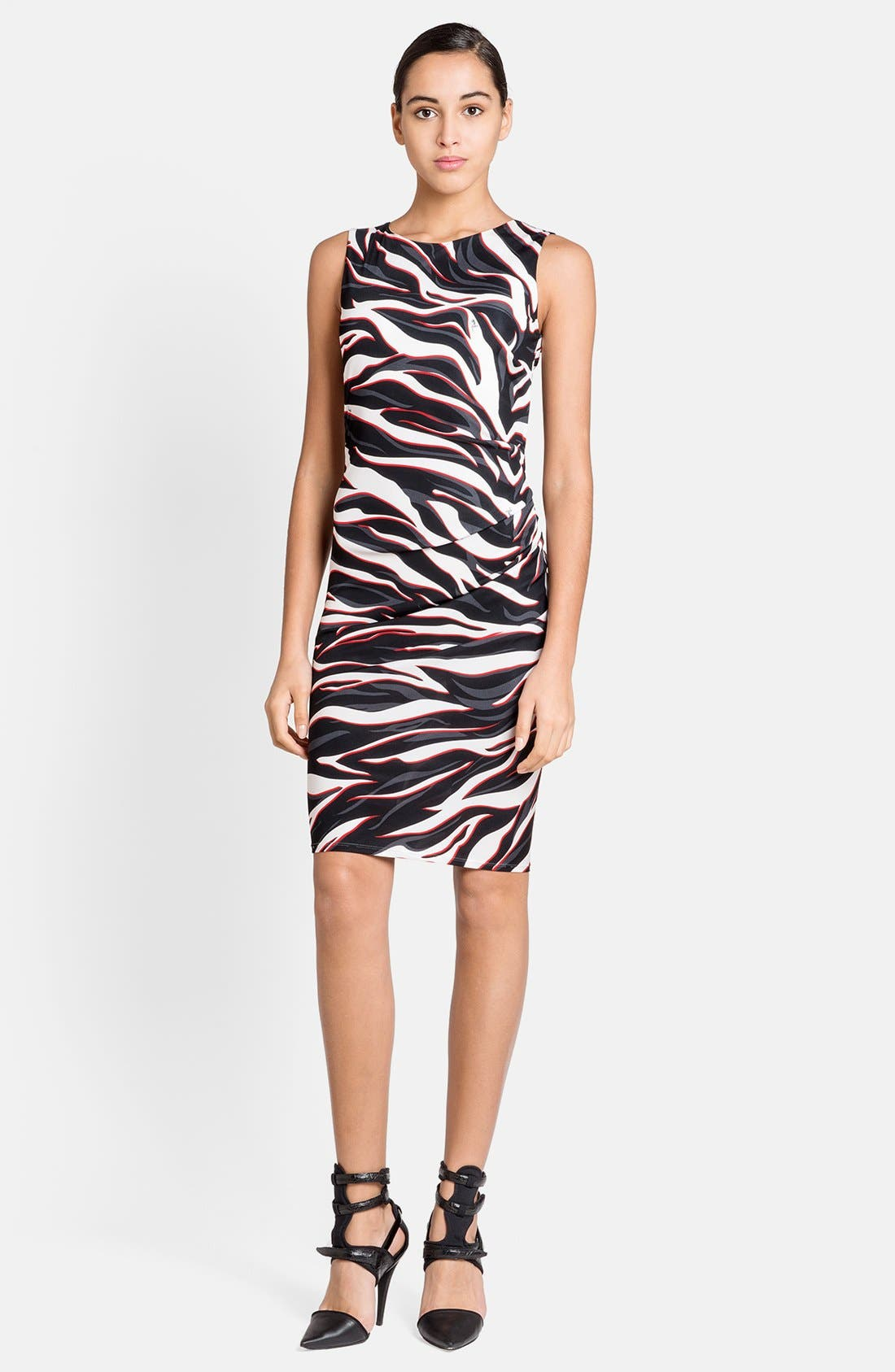 Alternate Image 1 Selected - Emilio Pucci Zebra Print Dress