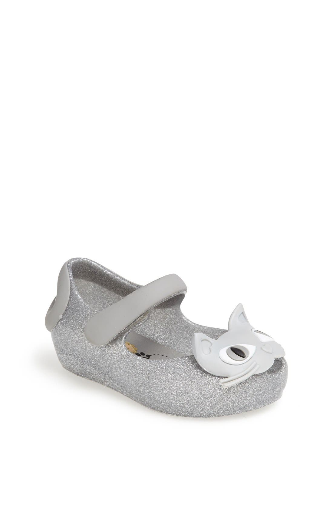 'Ultragirl II' Slip-On,                         Main,                         color, Silver Glitter