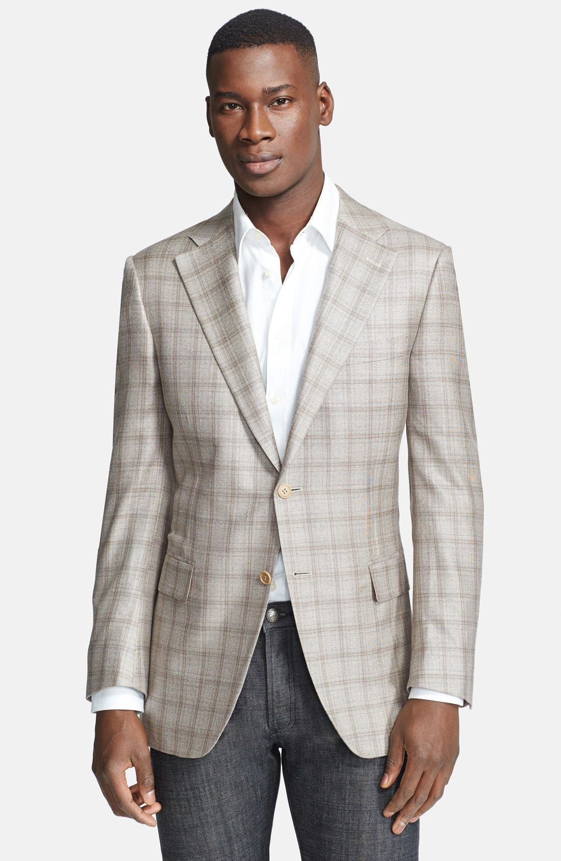 Alternate Image 1 Selected - PLAID 2B SV CLASSIC FIT SPORT COAT