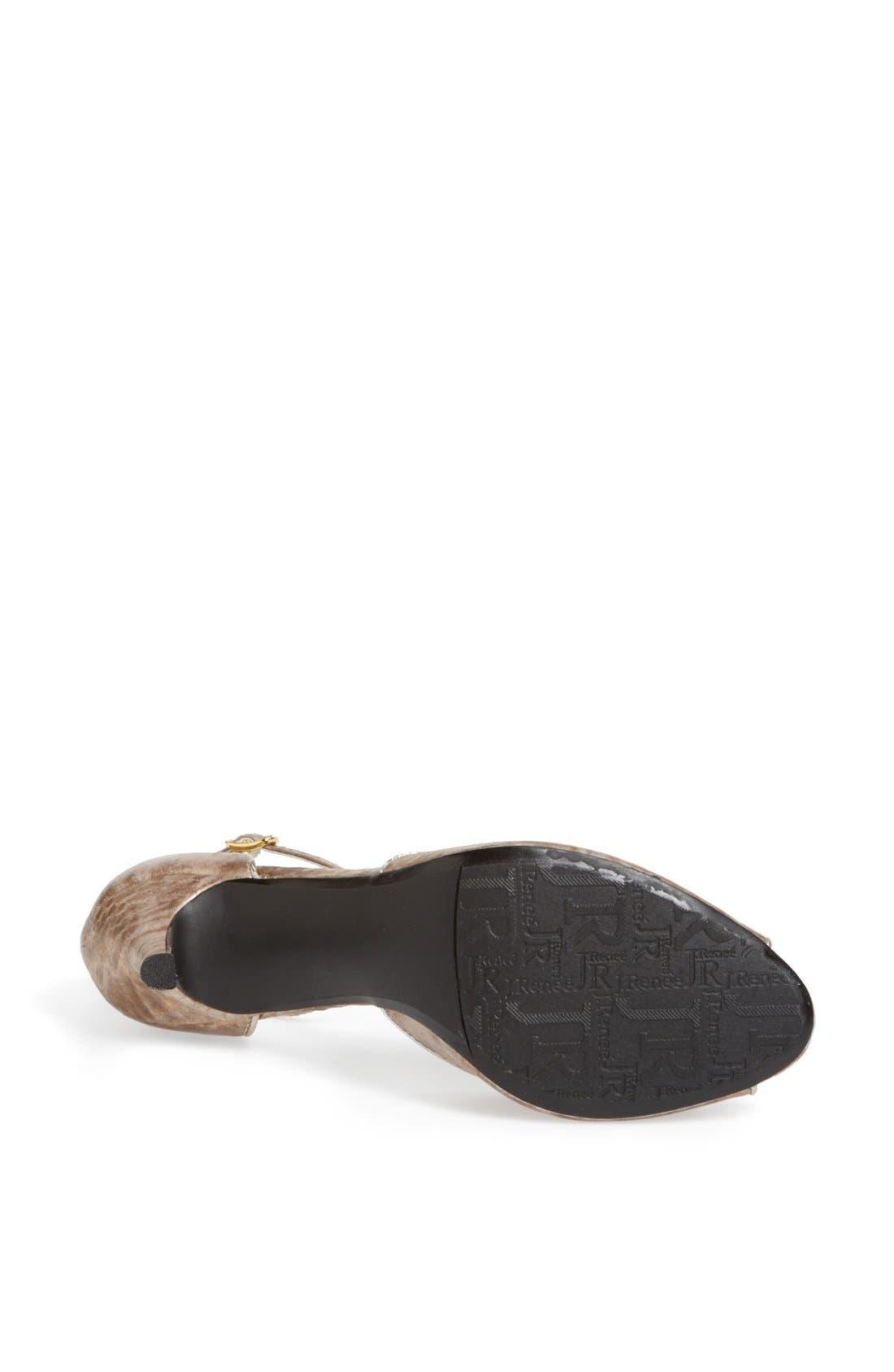 Alternate Image 4  - J. Reneé 'Deneen' Embellished Ankle Strap Sandal