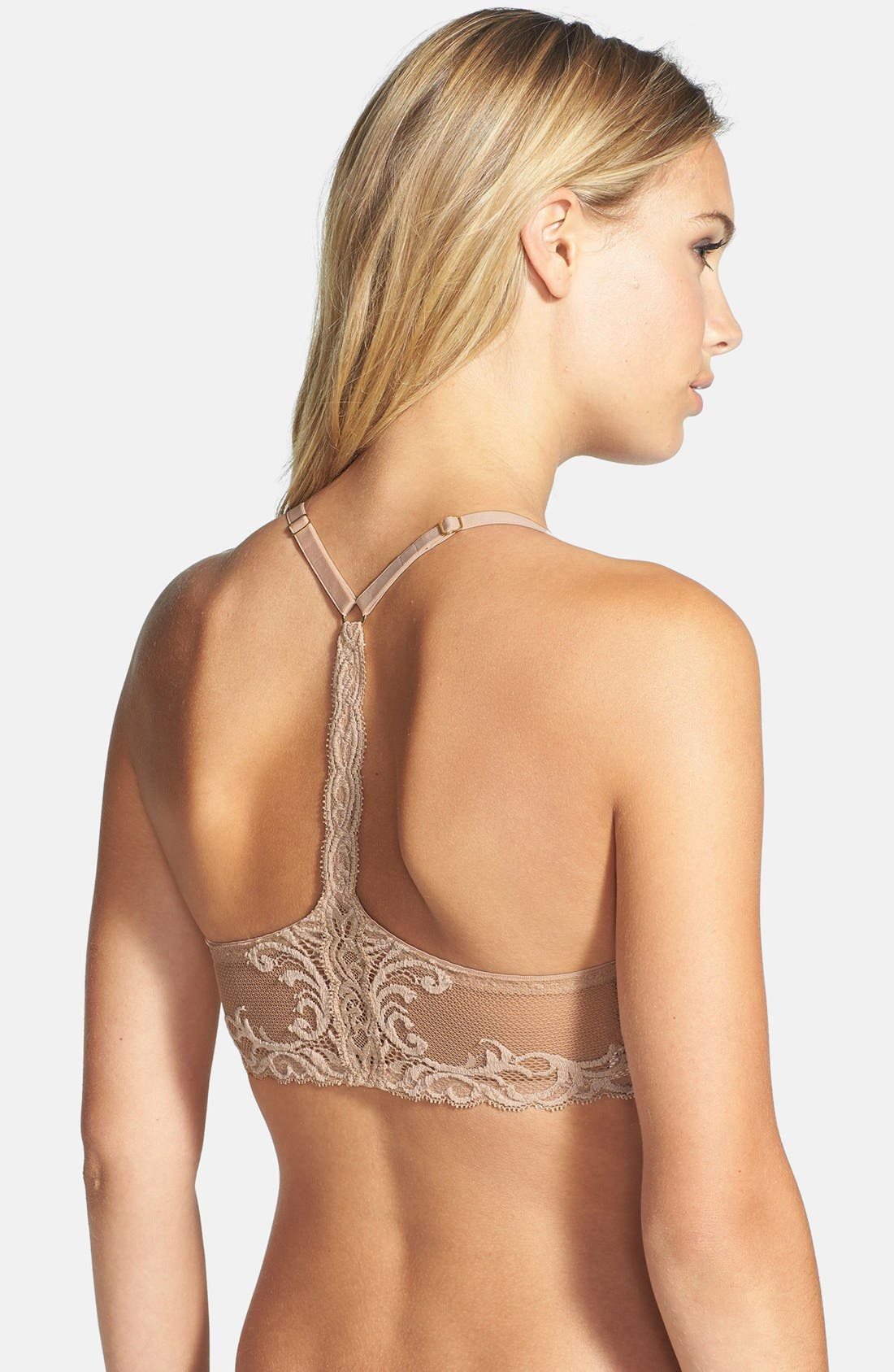 Alternate Image 1 Selected - Natori Feathers Contour Underwire T-Back Bra