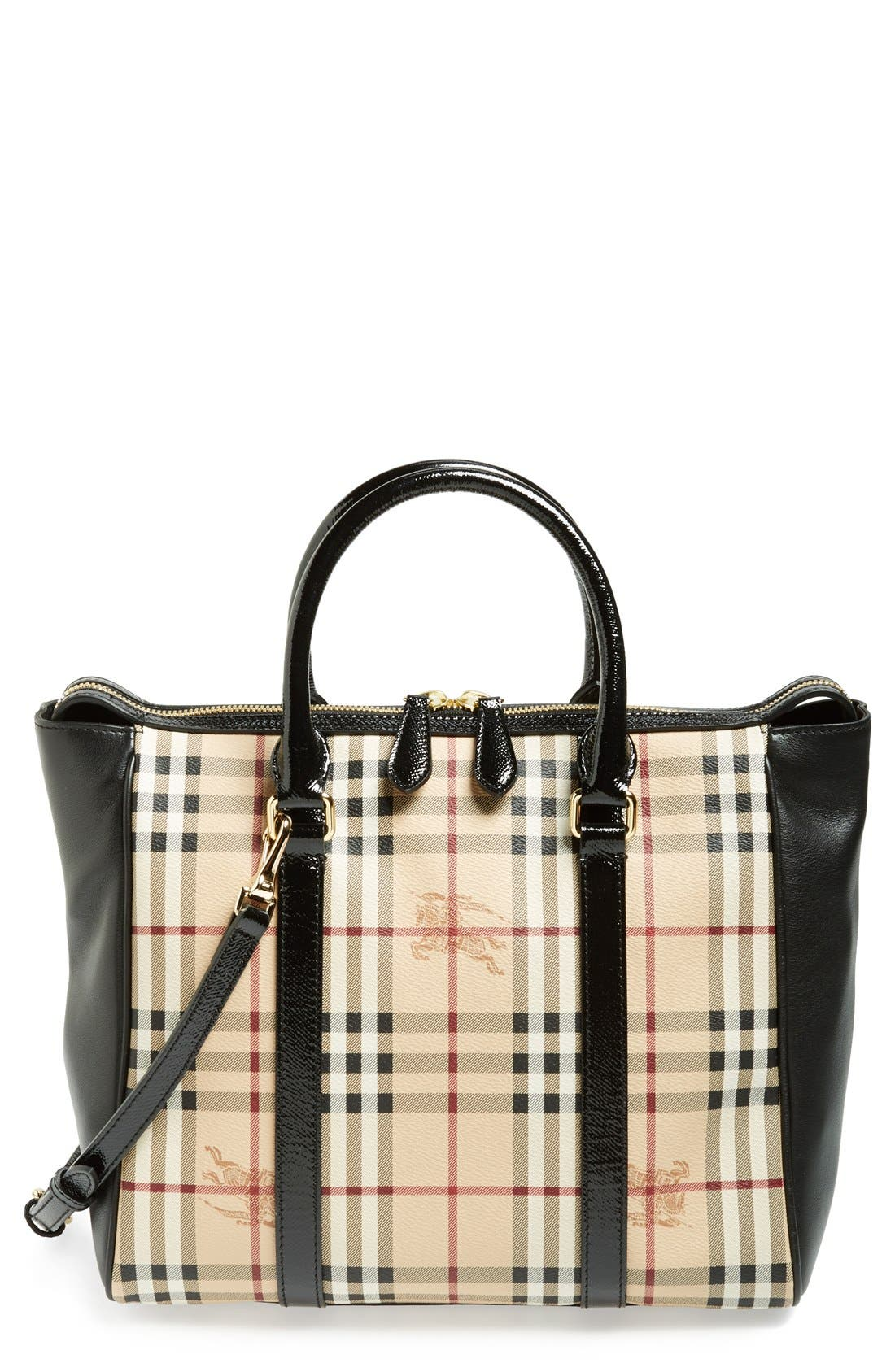 Alternate Image 1 Selected - Burberry 'Chattom' Logo Tote