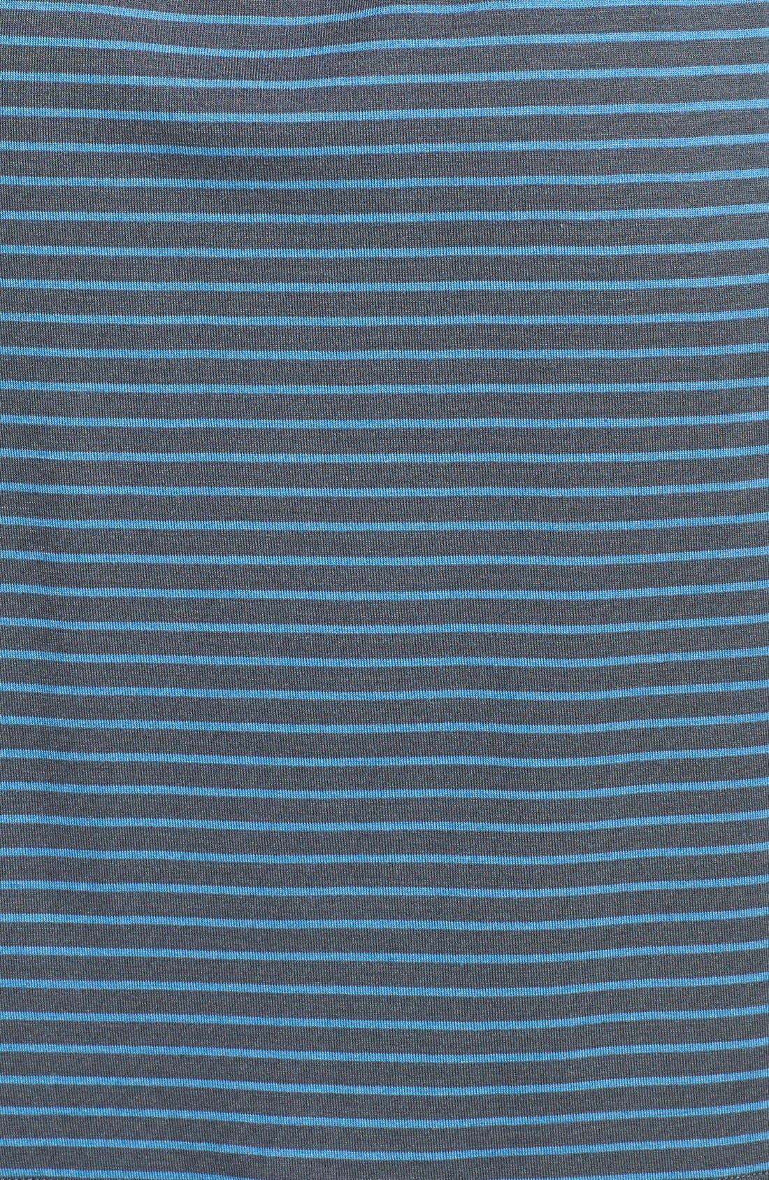 Alternate Image 3  - Caslon® Three Quarter Sleeve Round Neck Stretch Knit Dress (Regular & Petite)