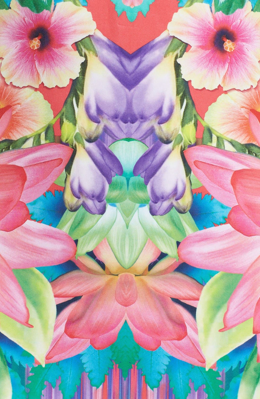 Alternate Image 3  - Laundry by Shelli Segal Print Neoprene Sheath Dress