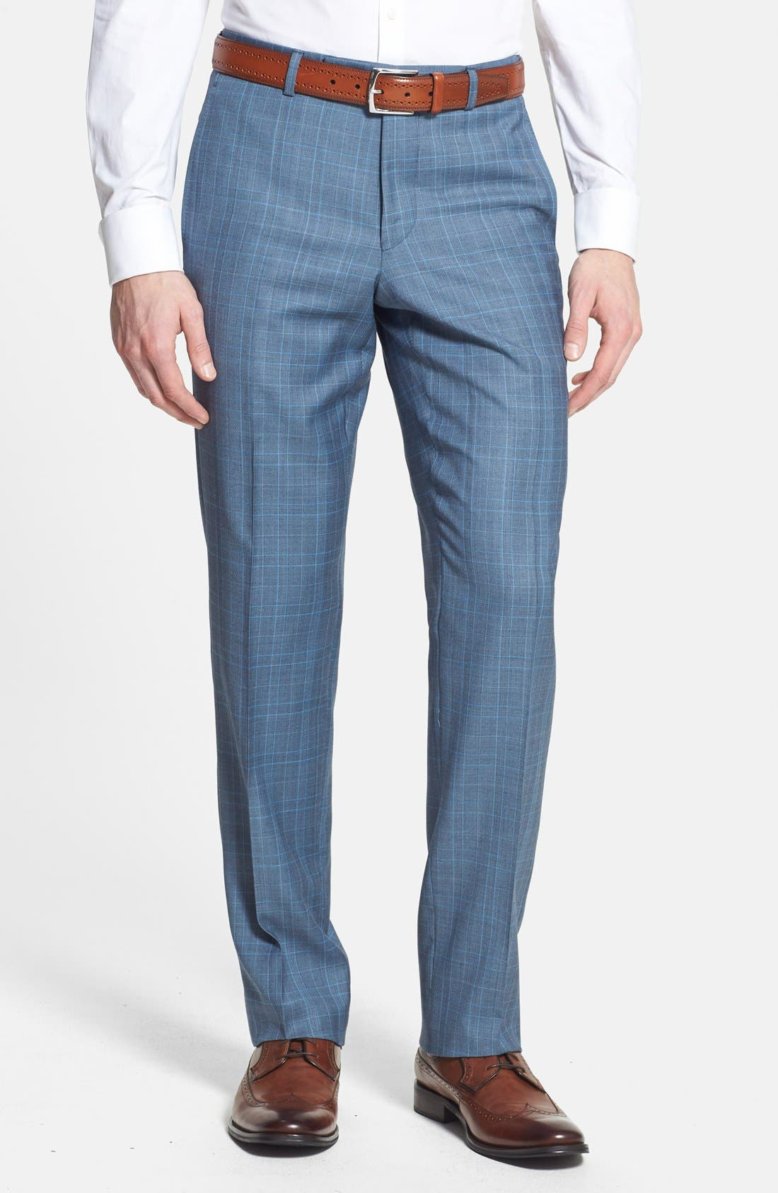 Alternate Image 5  - Ted Baker London 'Jones' Trim Fit Three-Piece Wool Suit