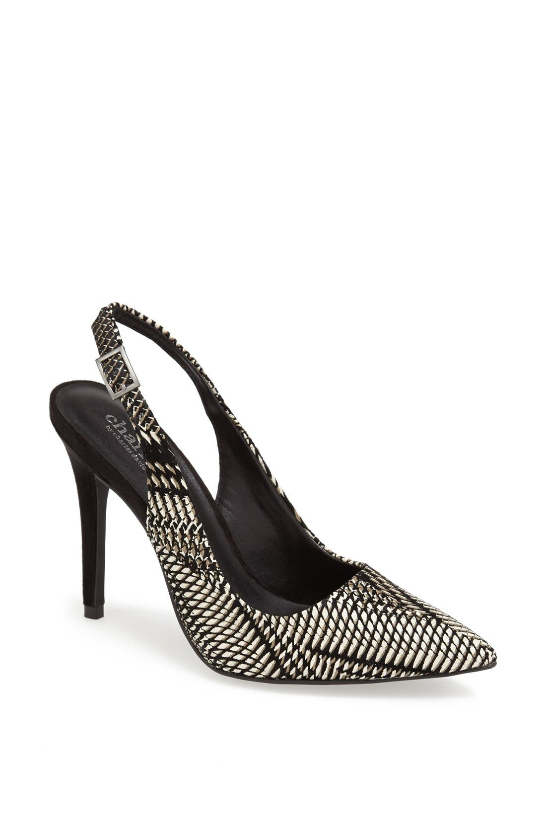 Alternate Image 1 Selected - Charles by Charles David 'Pamela' Slingback Pump