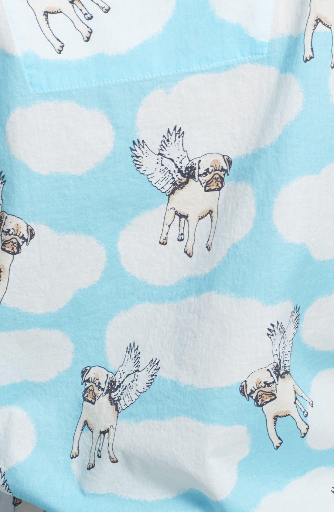 Alternate Image 3  - PJ Salvage 'Playful Prints' Cotton Voile Pajamas