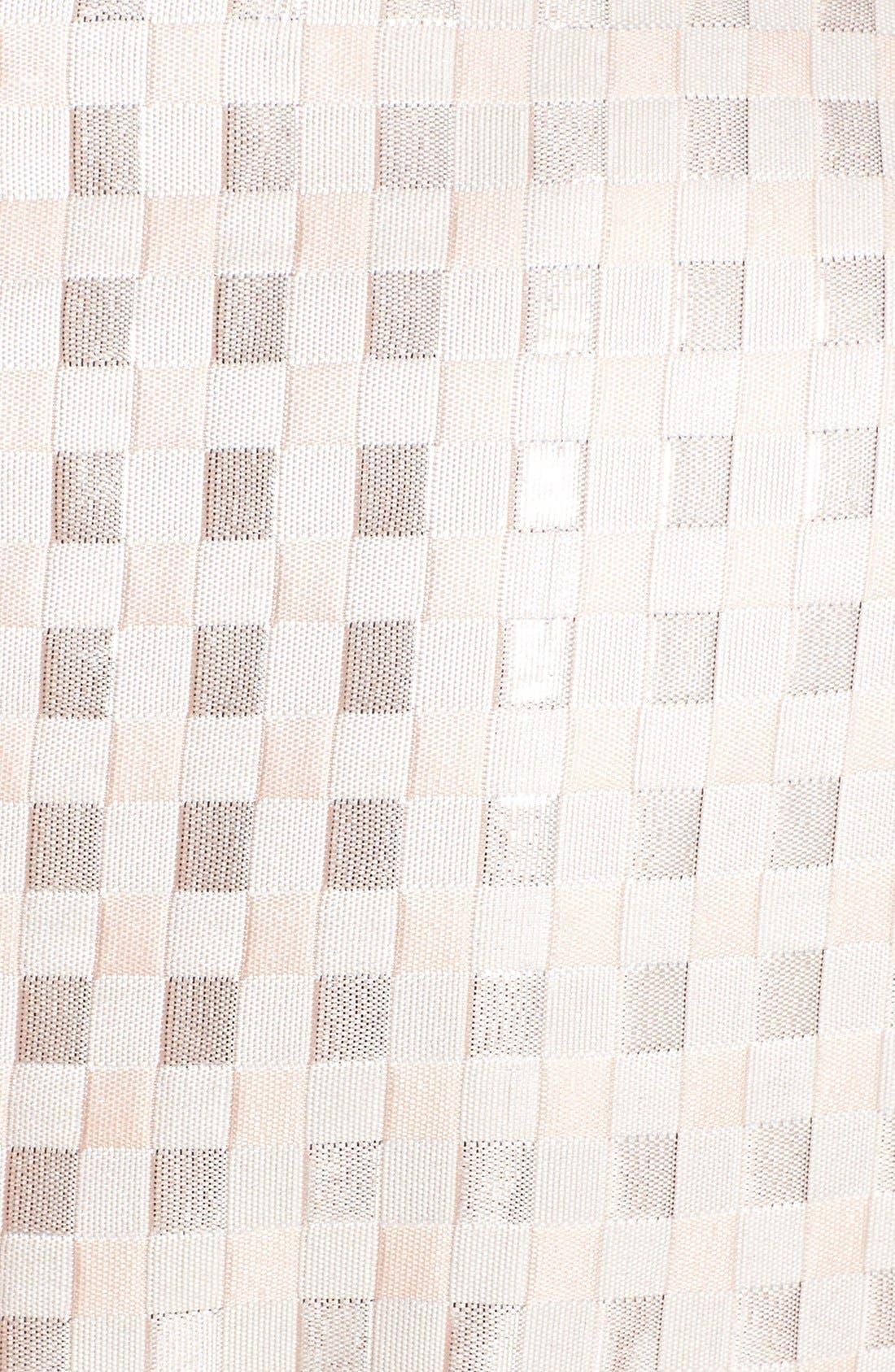 Alternate Image 4  - Gabby Skye Bow Waist Jacquard Sheath Dress