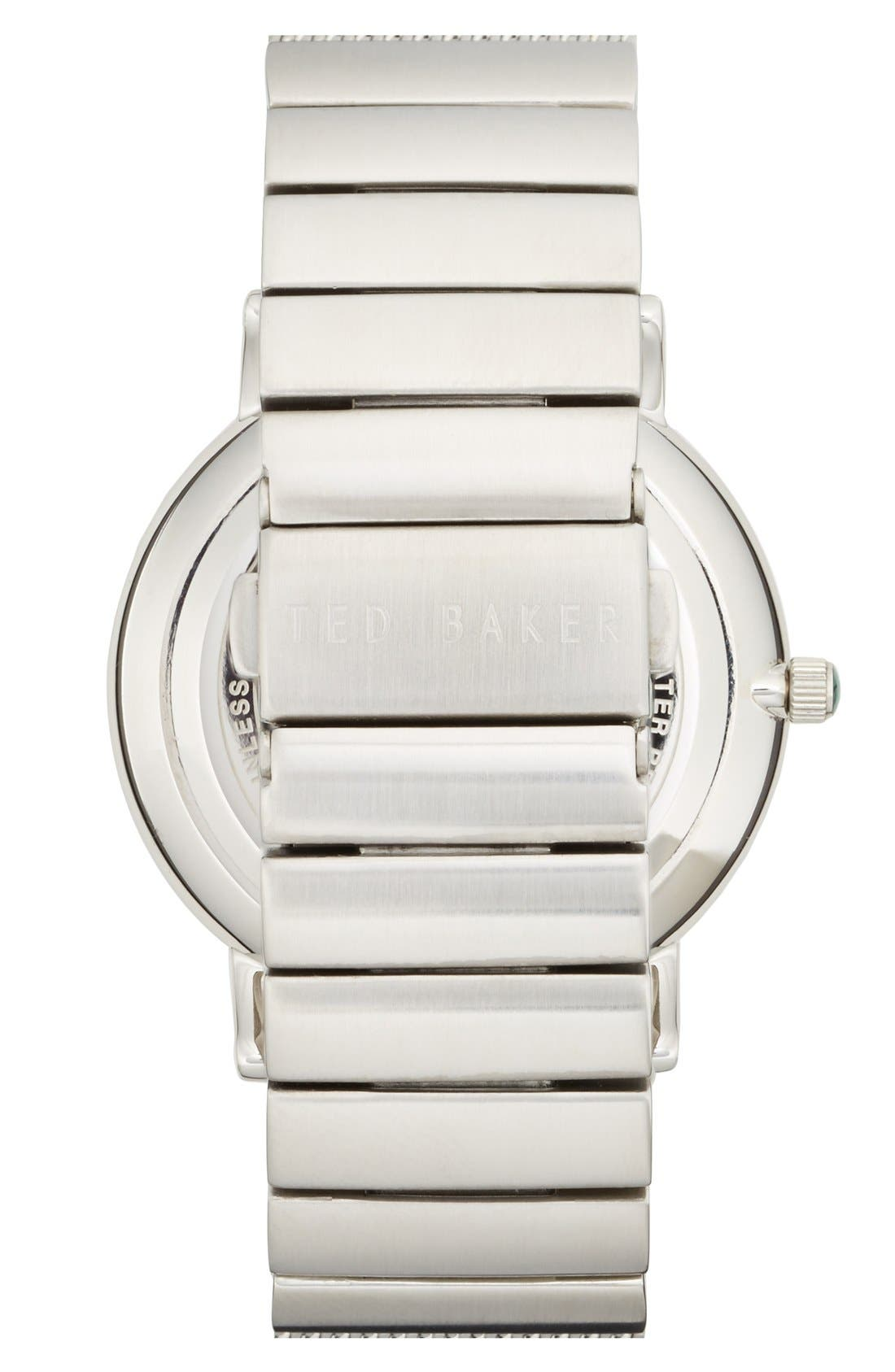 Alternate Image 2  - Ted Baker London Multifunction Mesh Strap Watch, 40mm