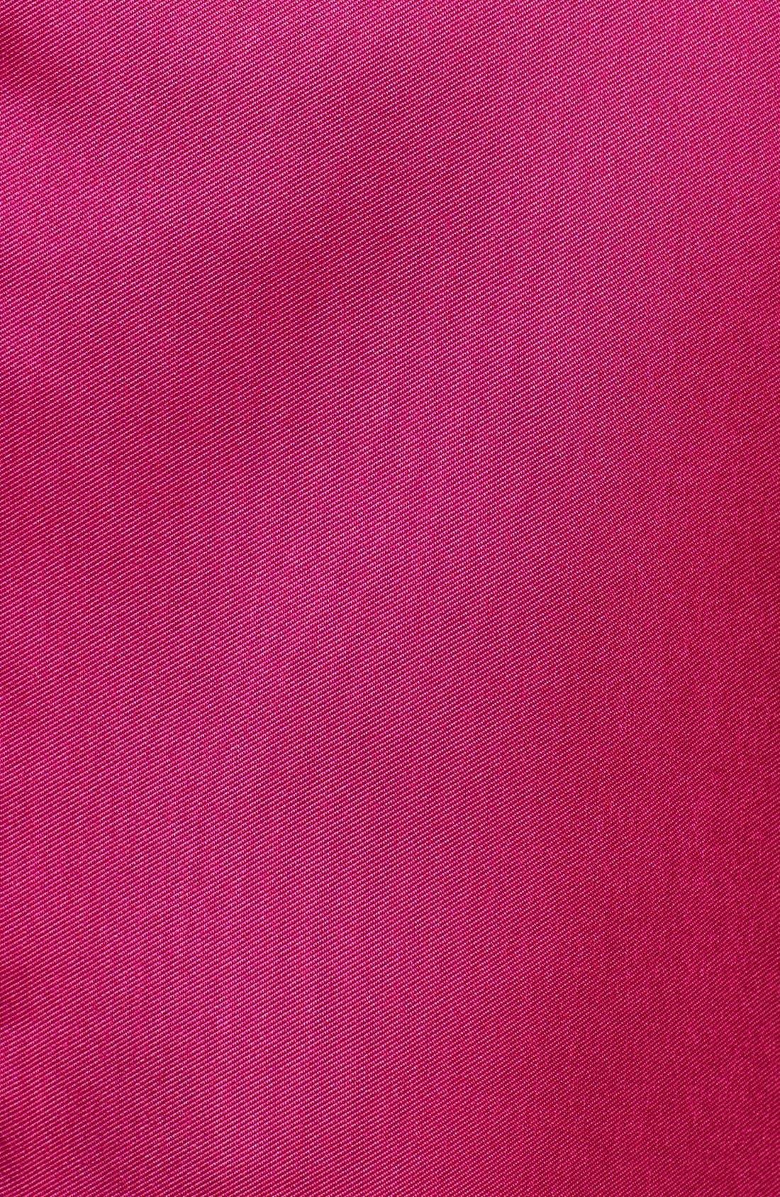 Alternate Image 4  - Isaac Mizrahi New York Off Shoulder Mikado Fit & Flare Dress
