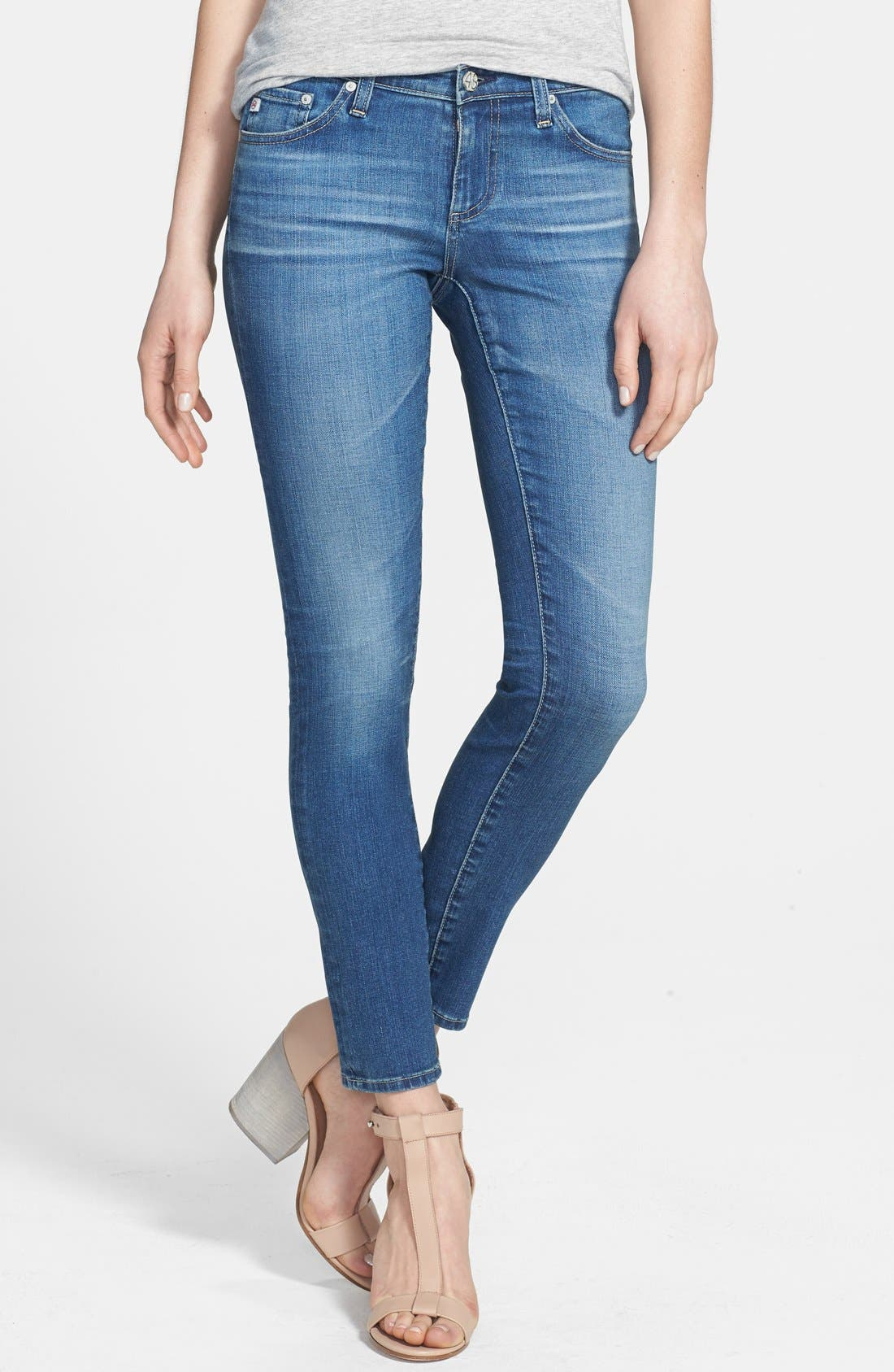 Alternate Image 1 Selected - AG 'The Legging' Ankle Jeans (18 Year)