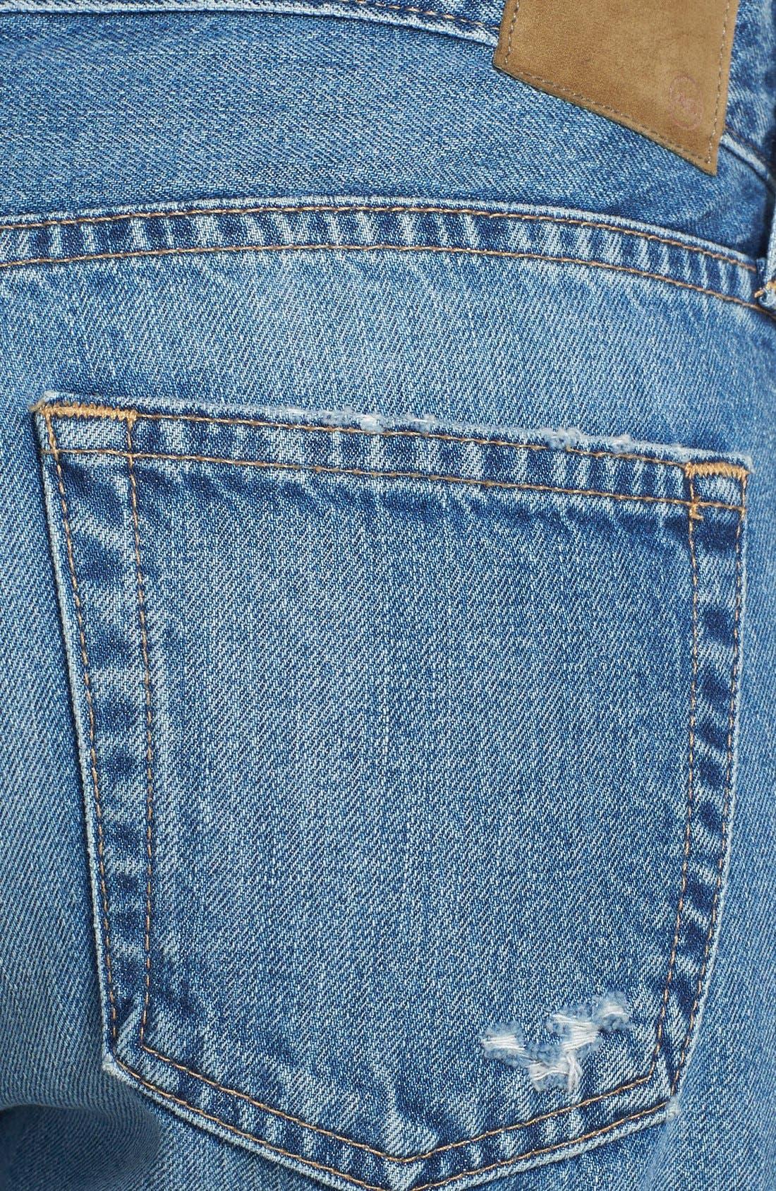 Alternate Image 3  - AG 'Drew' Destroyed Boyfriend Jeans (14 Year Tailspin)