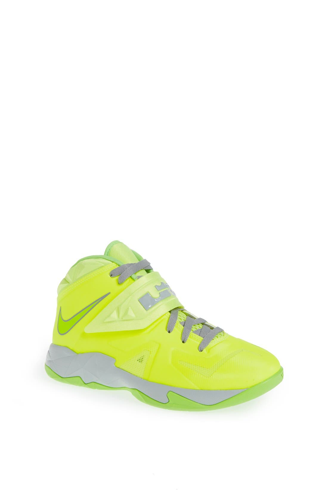 Alternate Image 1 Selected - Nike 'LeBron Zoom Soldier VII' Basketball Shoe (Big Kid)