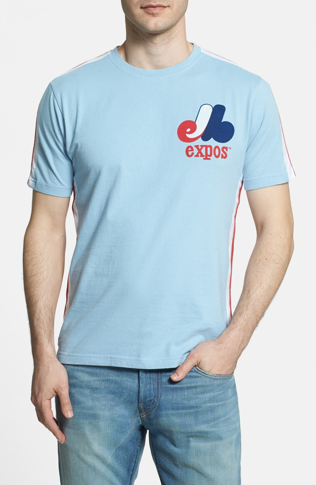 Alternate Image 1 Selected - Red Jacket 'Expos - Remote Control' T-Shirt (Men)