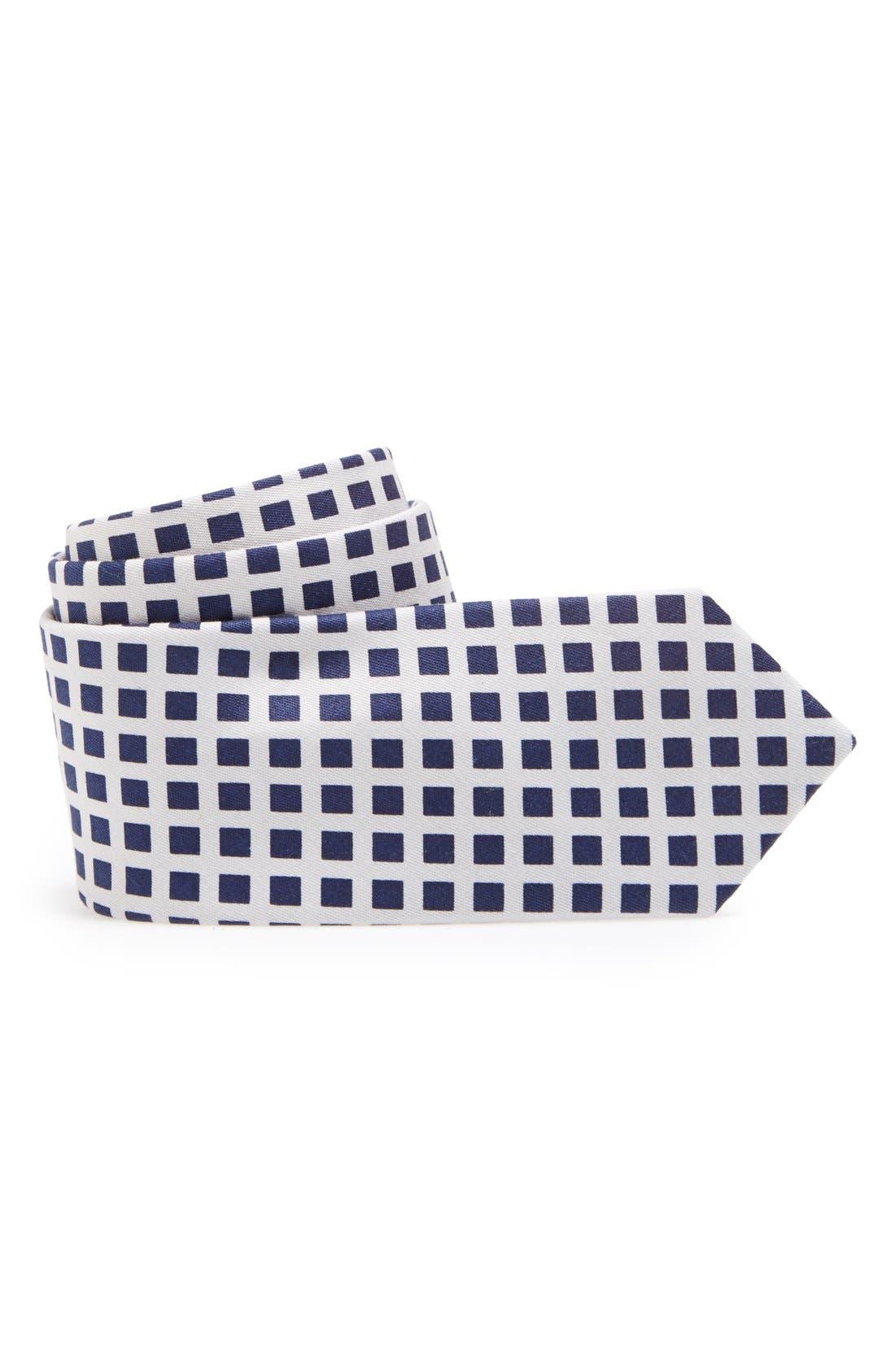 Main Image - C2 by Calibrate Woven Cotton Tie (Big Boys)