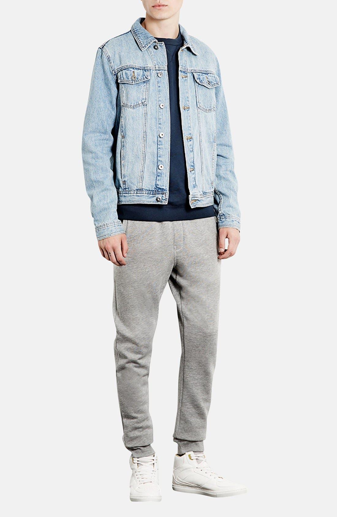Alternate Image 4  - Topman Skinny Fit Jogger Pants