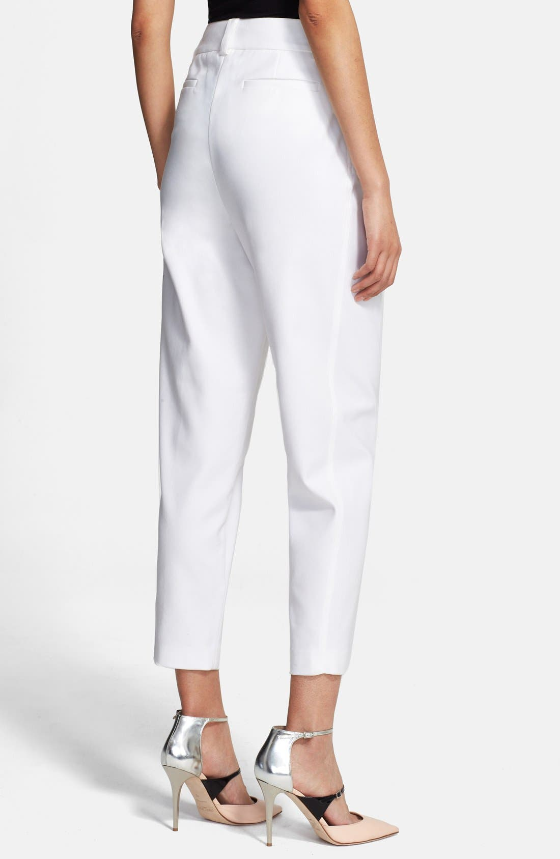 Alternate Image 2  - Alice + Olivia 'Arthur' Ankle Pants