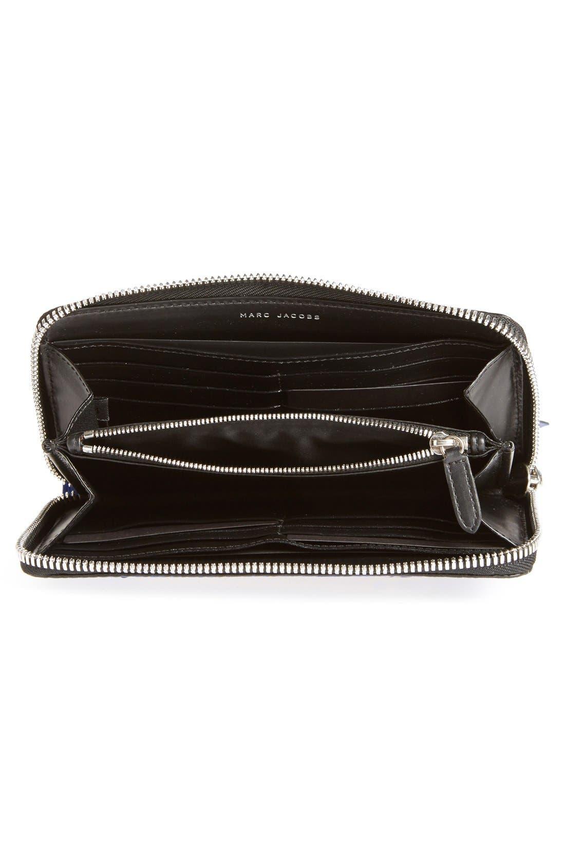 Alternate Image 2  - MARC JACOBS 'Big Apple Deluxe' Calfskin Leather Wallet