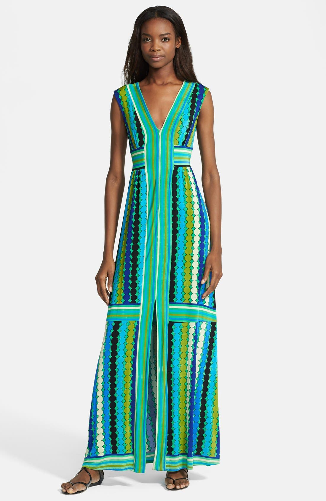 Main Image - Tracy Reese Reversible Print Jersey Maxi Dress