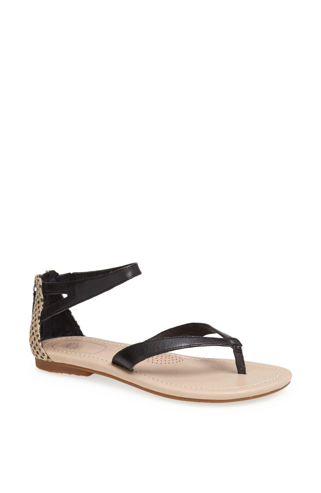 Alternate Image 1 Selected - UGG® Australia 'Tarra' Sandal