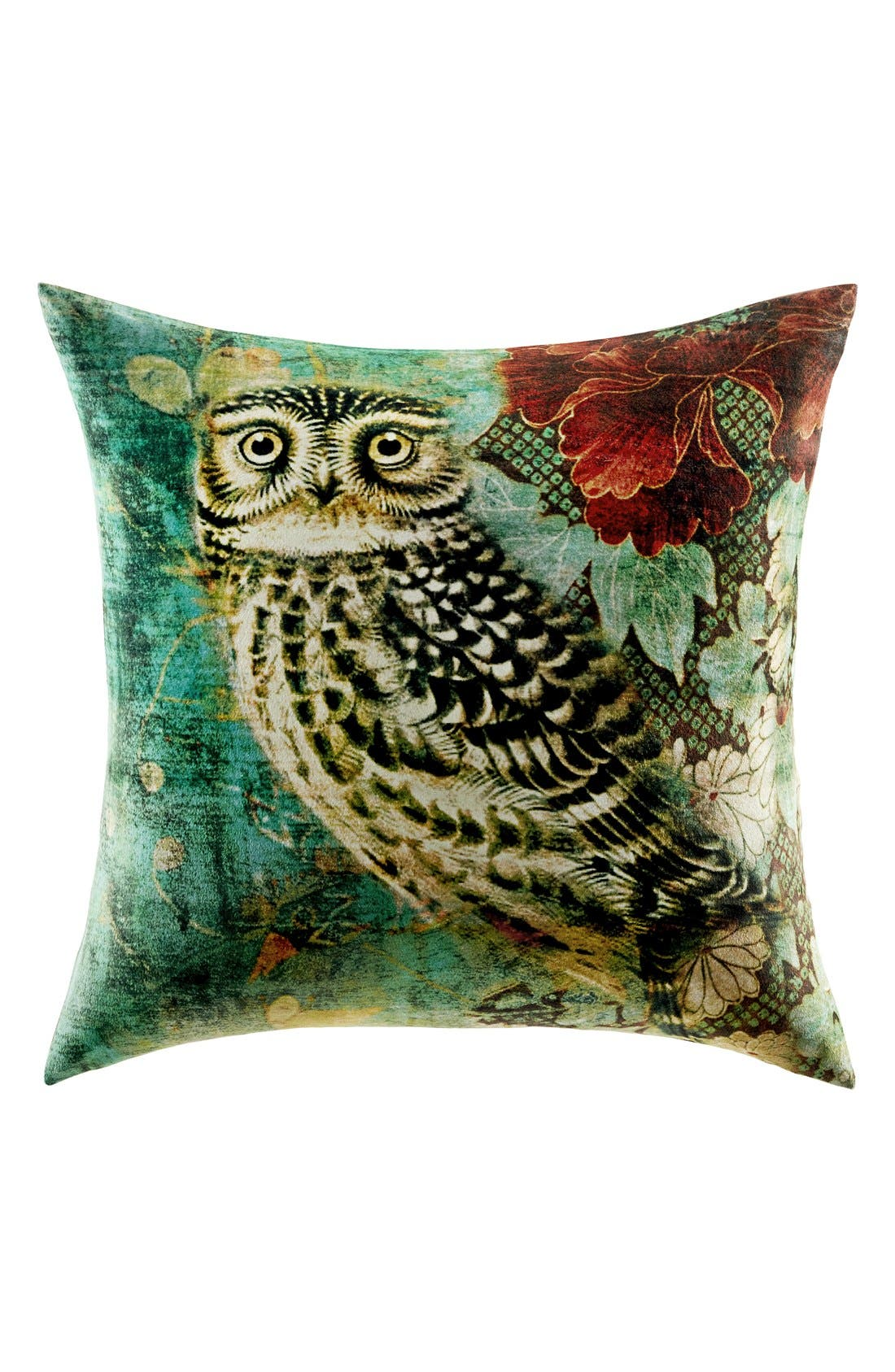Alternate Image 1 Selected - Tracy Porter® For Poetic Wanderlust® 'Owl' Velvet Pillow