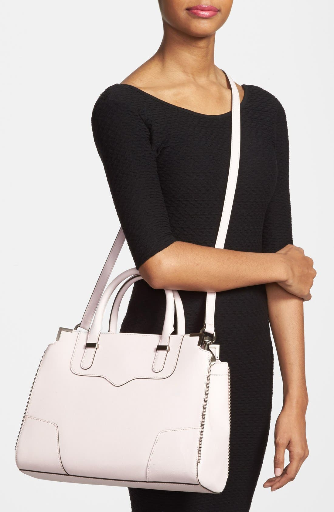 Alternate Image 2  - Rebecca Minkoff 'Amourous' Leather Satchel