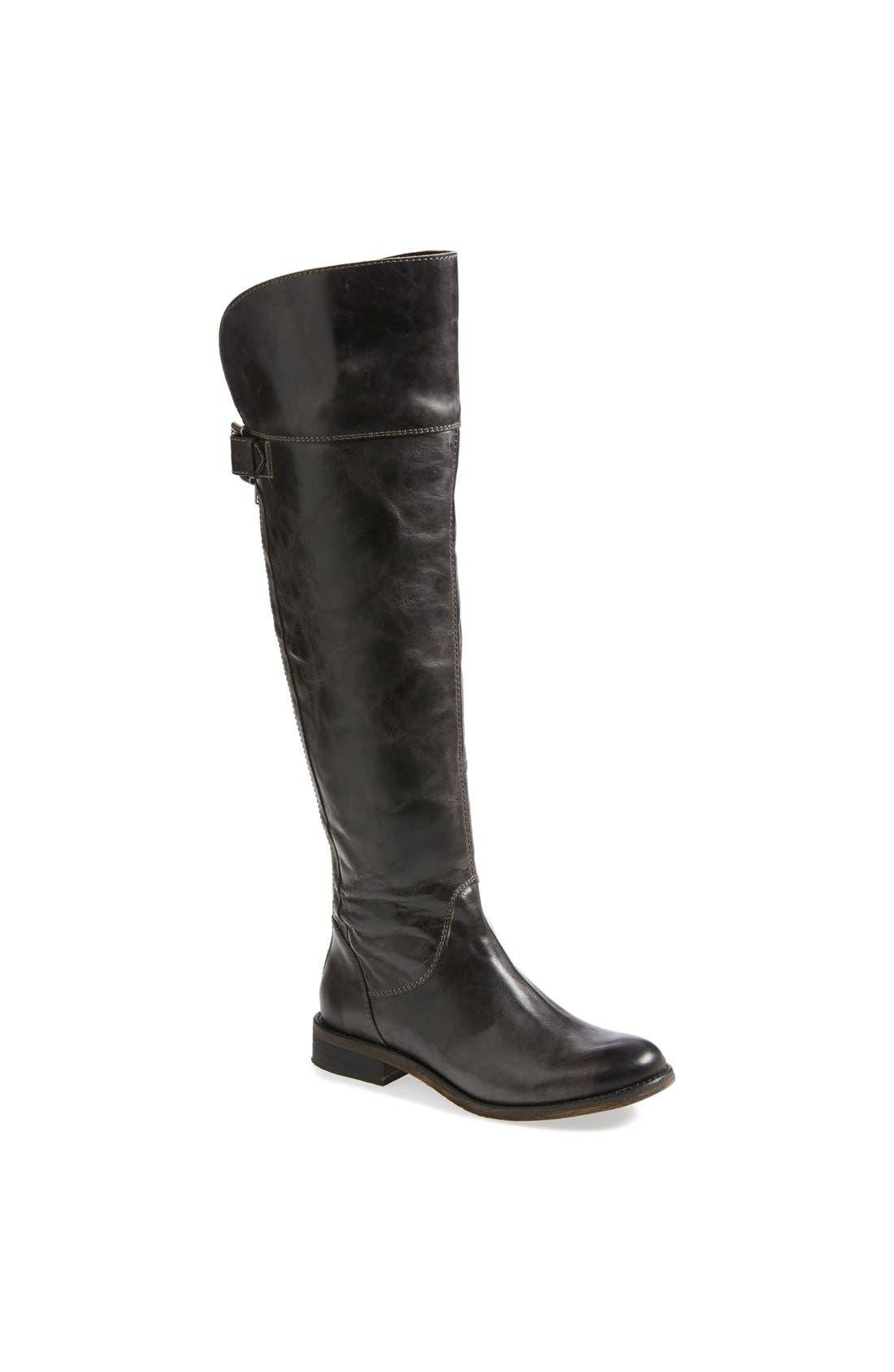 Main Image - Hinge 'Sannibel' Leather Over the Knee Boot (Women)