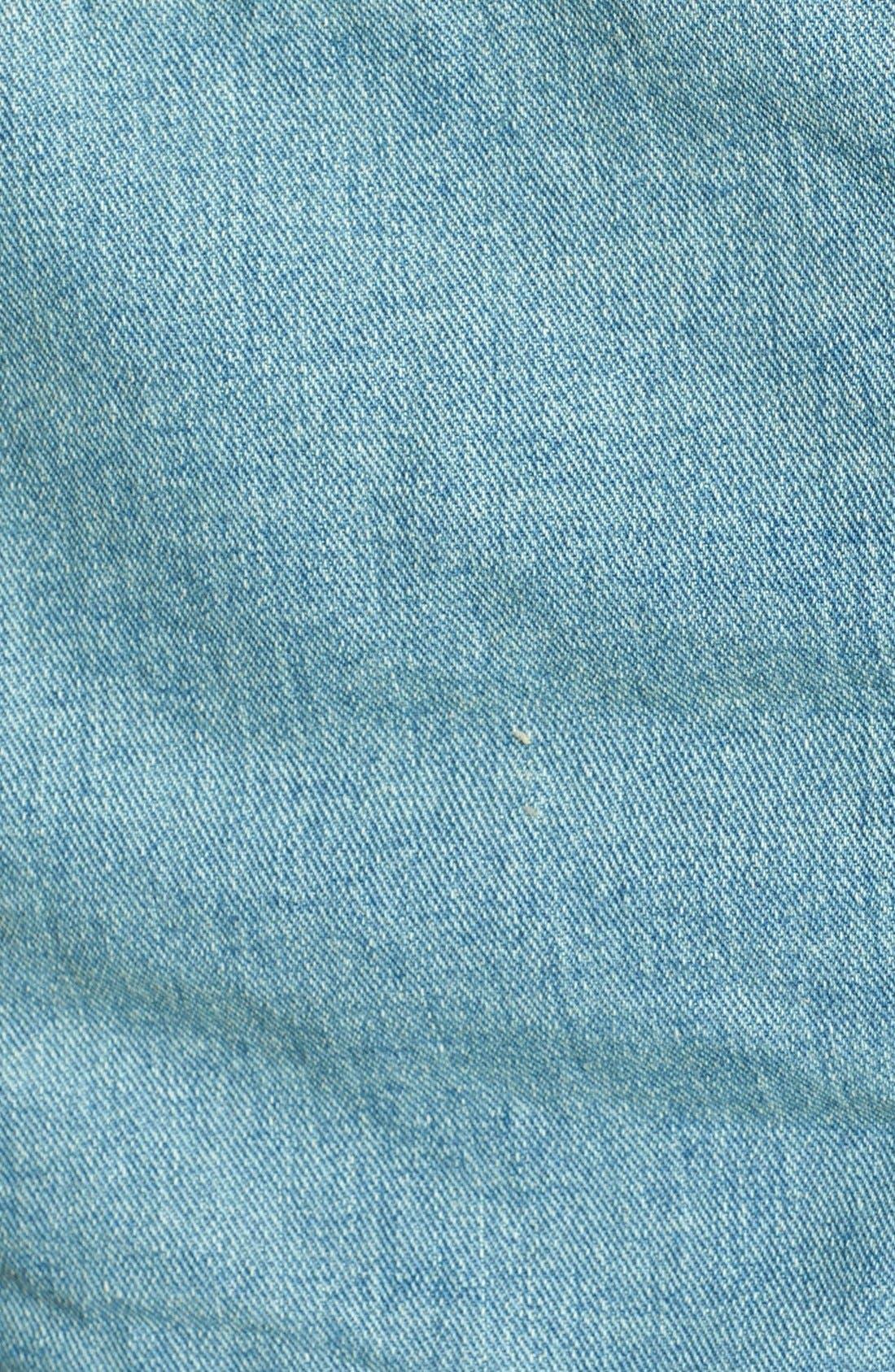 Alternate Image 3  - Free People Distressed Denim Crop Jacket