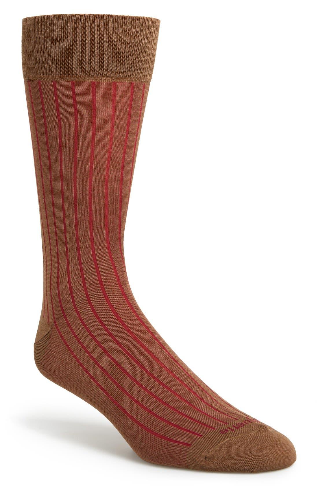 Main Image - Etiquette Clothiers 'Royal Rib' Socks