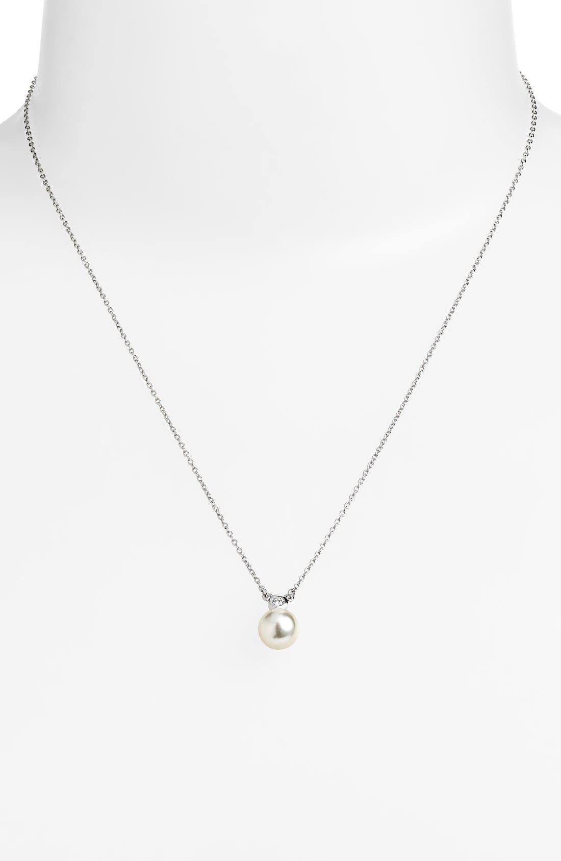 Alternate Image 1 Selected - Judith Jack 'Pearl Romance' Faux Pearl Pendant Necklace