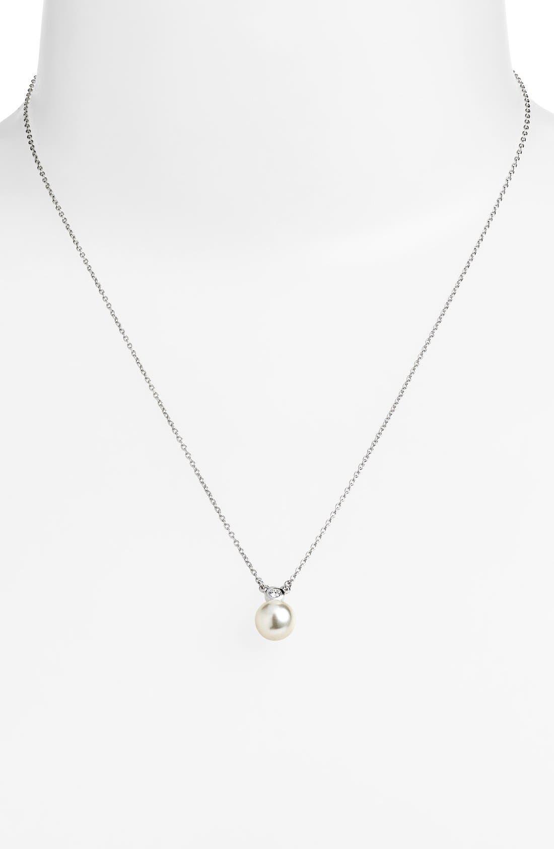 Main Image - Judith Jack 'Pearl Romance' Faux Pearl Pendant Necklace