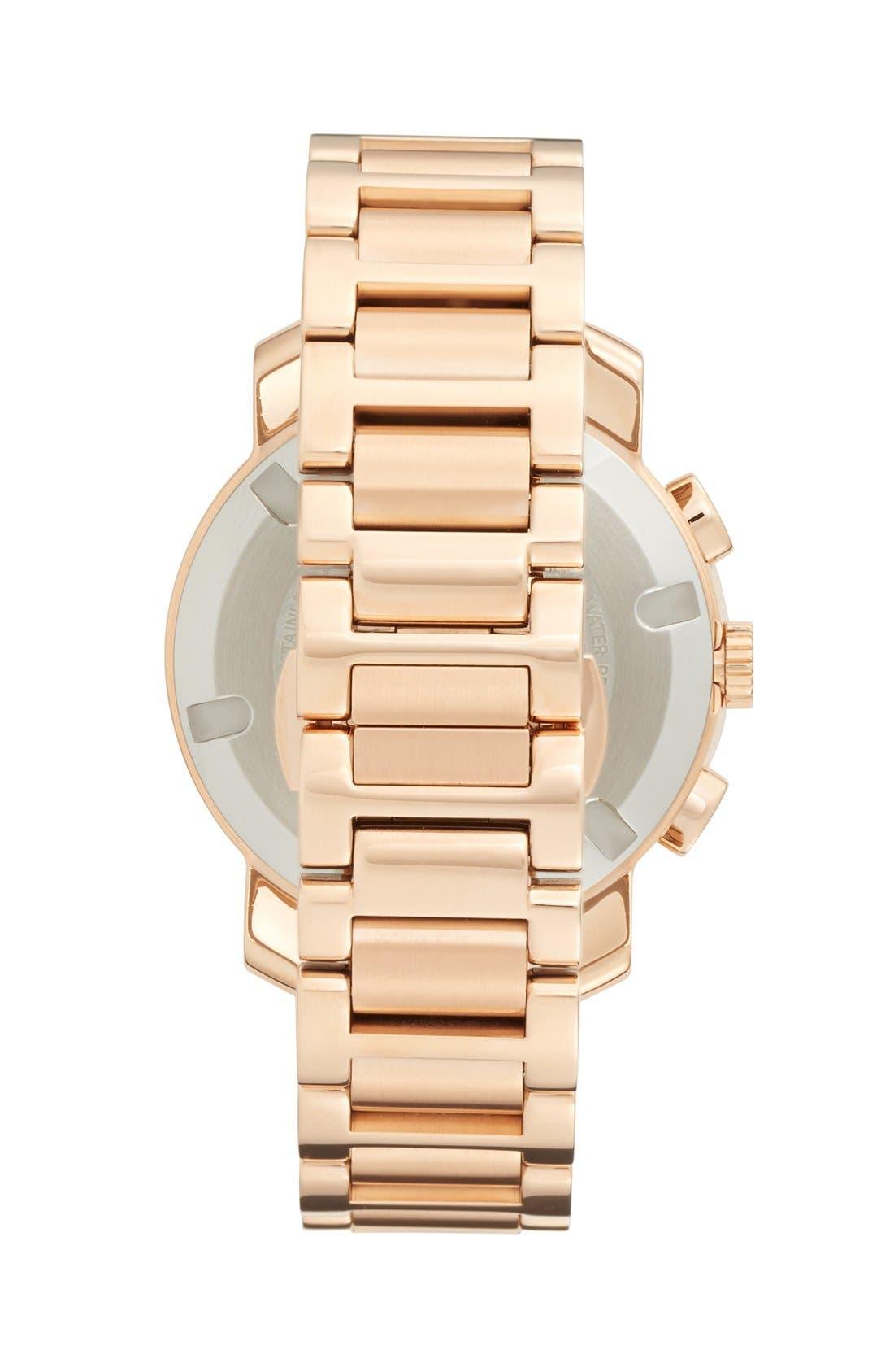 Alternate Image 3  - Movado 'Bold' Round Multifunction Bracelet Watch, 40mm