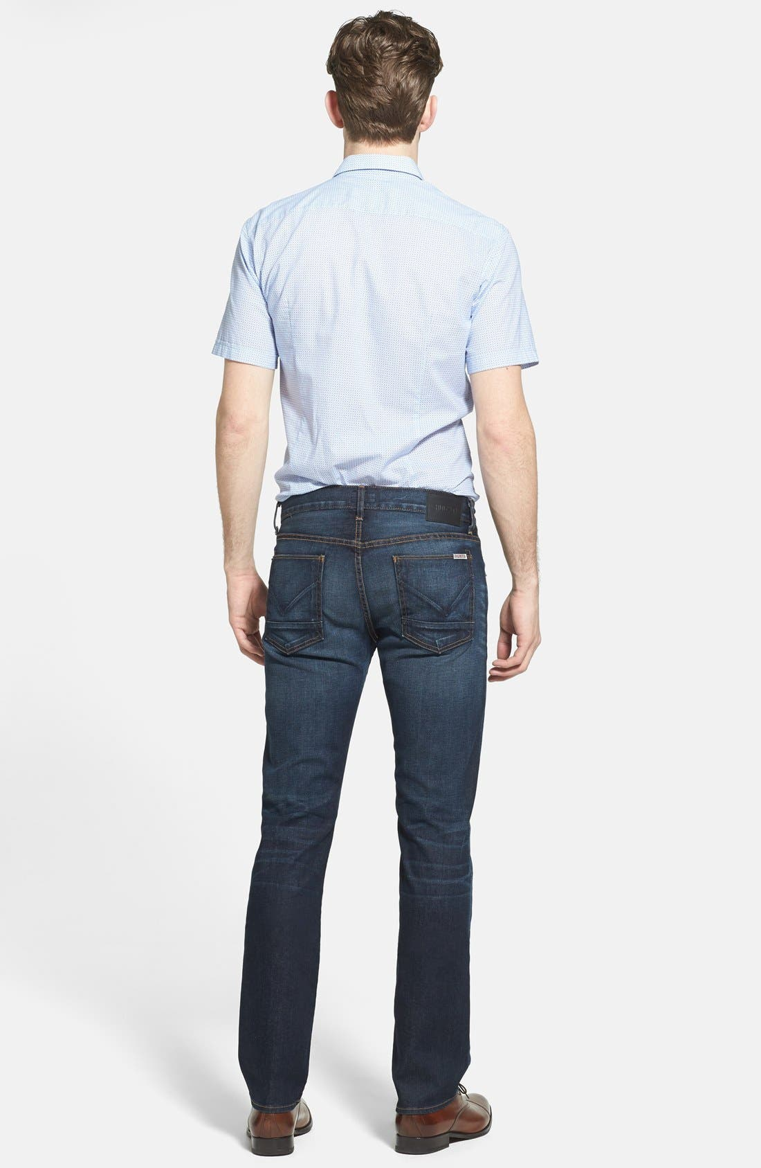 Alternate Image 5  - BOSS HUGO BOSS 'Marco' Slim Fit Short Sleeve Print Sport Shirt
