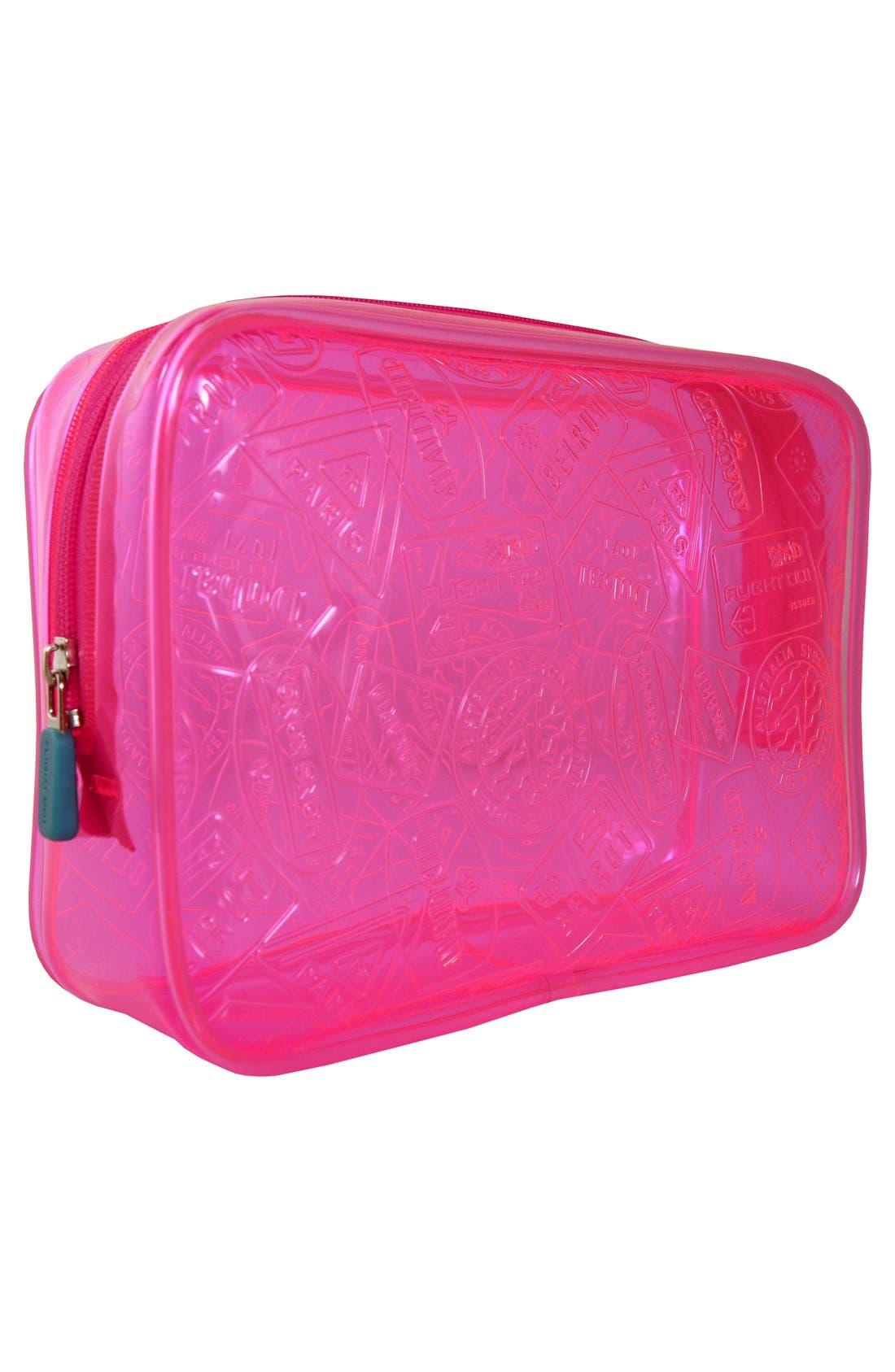 X-Ray Neon Quart Bag,                             Alternate thumbnail 2, color,                             Pink