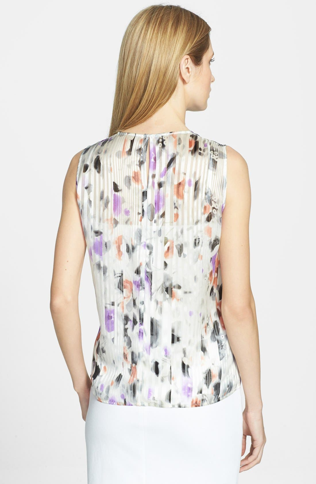Alternate Image 2  - BOSS HUGO BOSS 'Idesa' Sleeveless Silk Blouse
