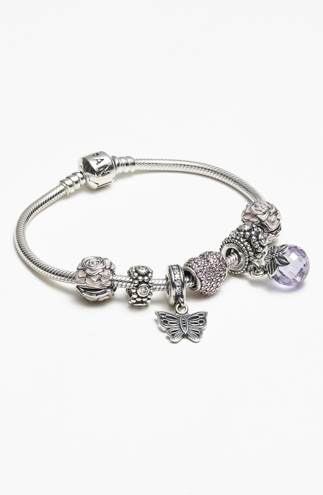 Alternate Image 2  - PANDORA Pavé Heart Charm