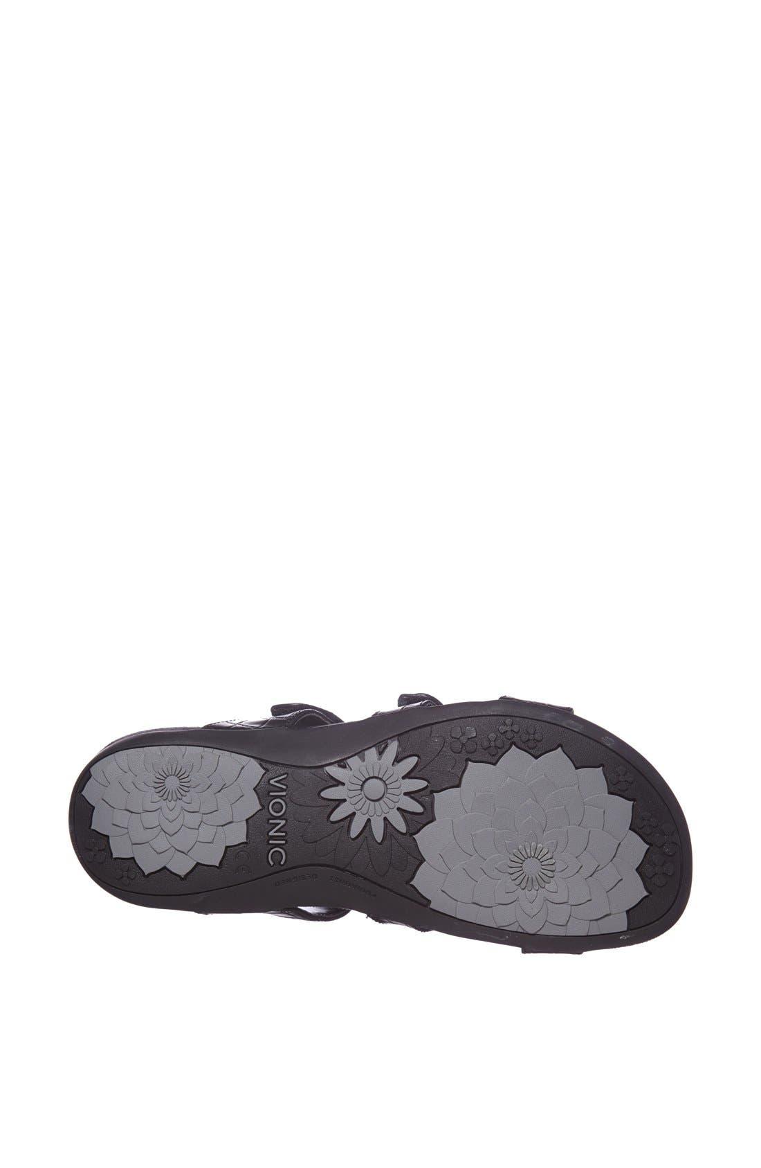 Alternate Image 4  - Vionic with Orthaheel® 'Amber' Adjustable Sandal