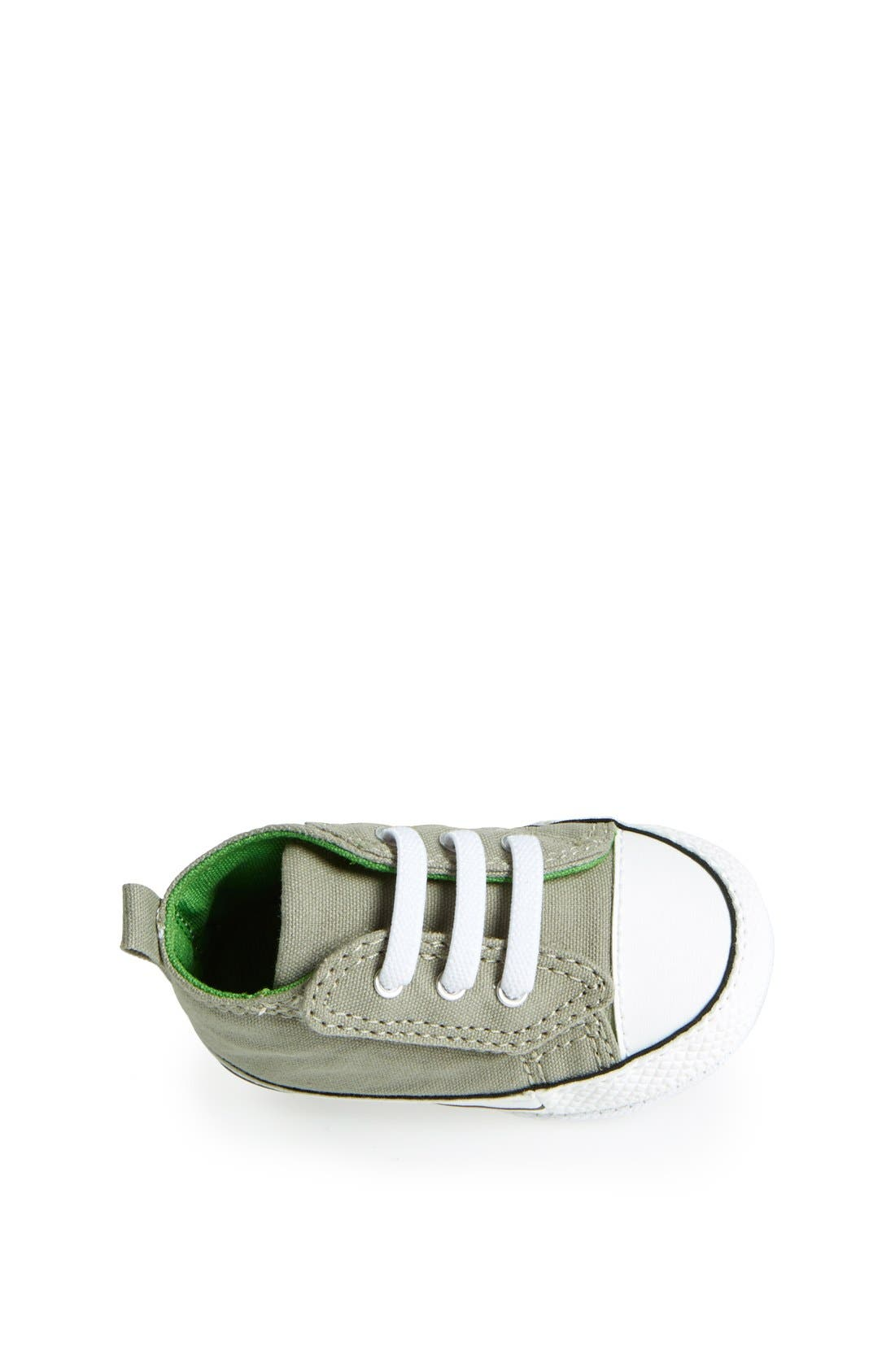 Chuck Taylor<sup>®</sup> Low Top Sneaker,                             Alternate thumbnail 3, color,                             Old Silver