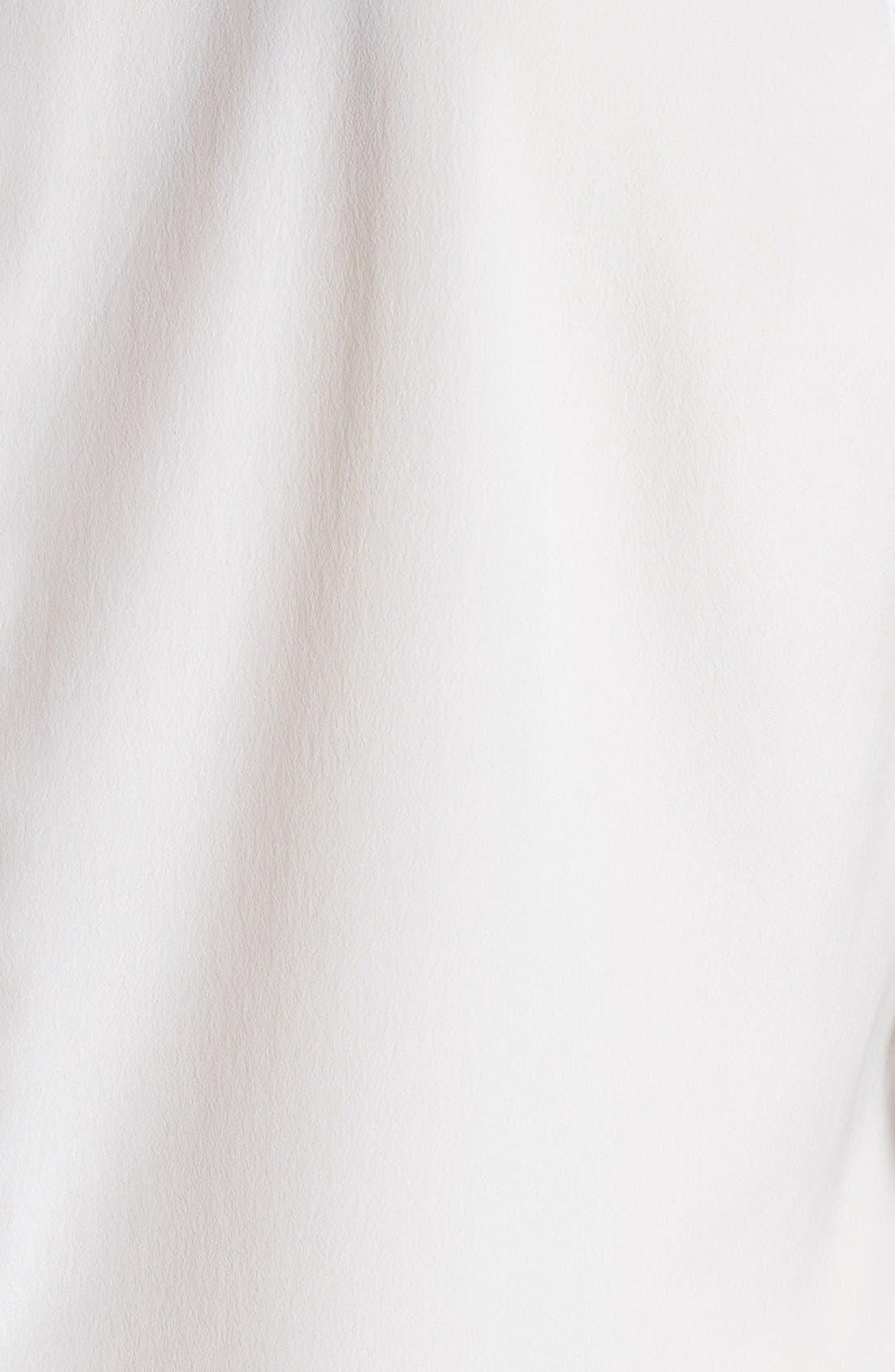 Alternate Image 3  - Halogen® Banded Collar Sleeveless Blouse (Regular & Petite)