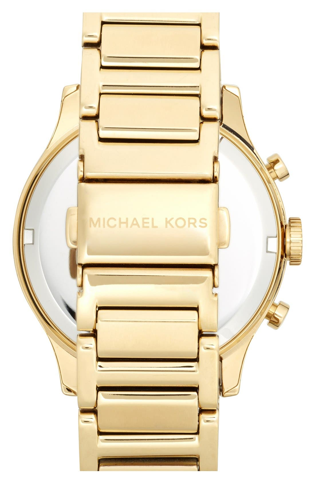 Alternate Image 2  - Michael Kors 'Bailey' Chronograph Bracelet Watch, 39mm (Nordstrom Exclusive)