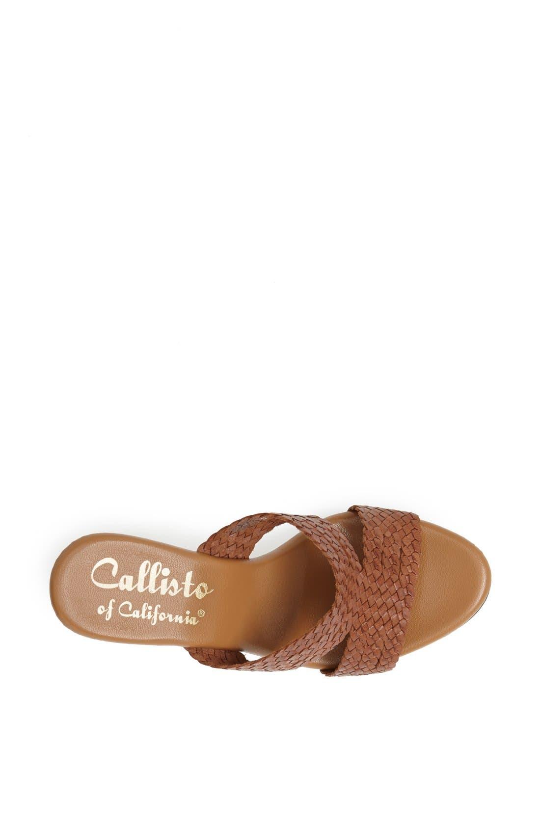 Alternate Image 3  - Callisto 'Order' Platform Sandal