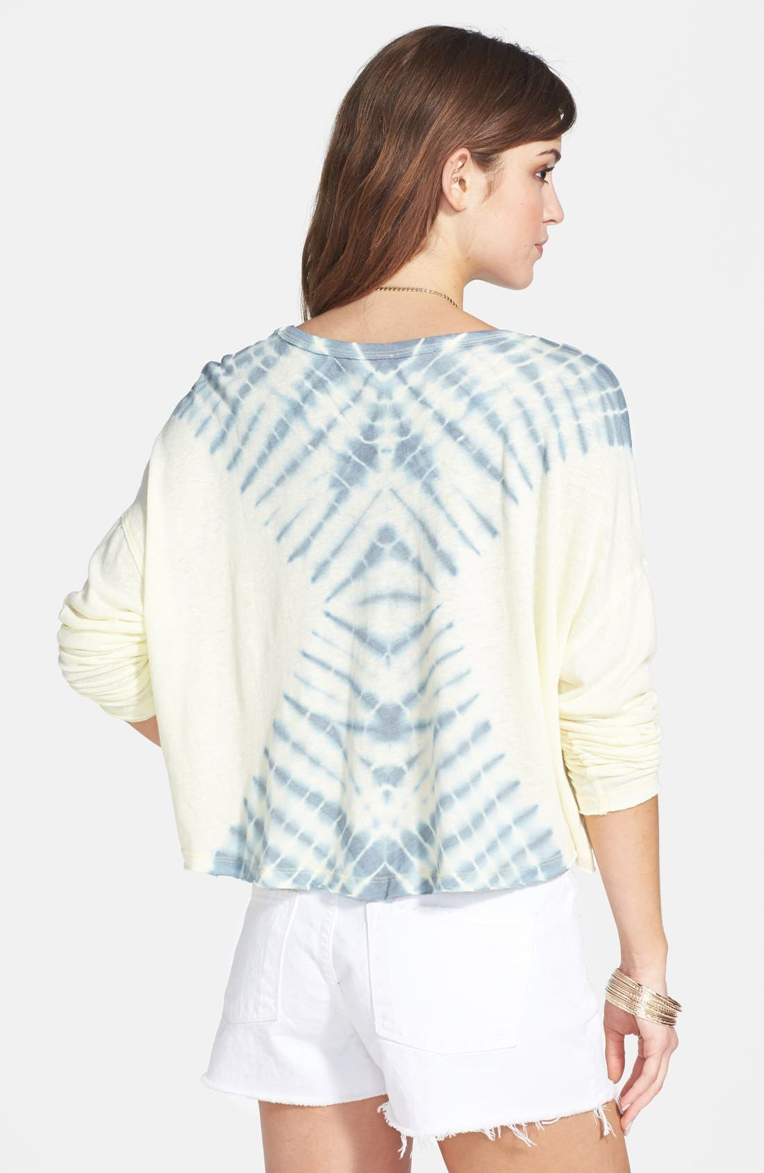 Alternate Image 2  - Free People 'Sundown' Tie Dye Cotton Blend Top