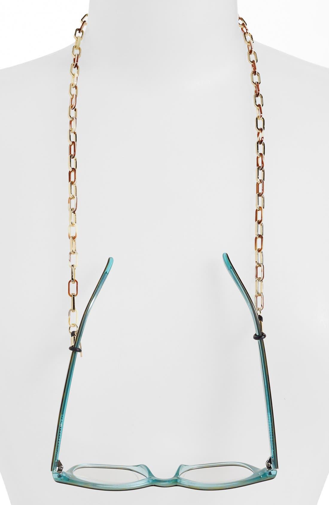 Alternate Image 1 Selected - L. Erickson 'Magdelan' Mini Metal Link Eyewear Chain