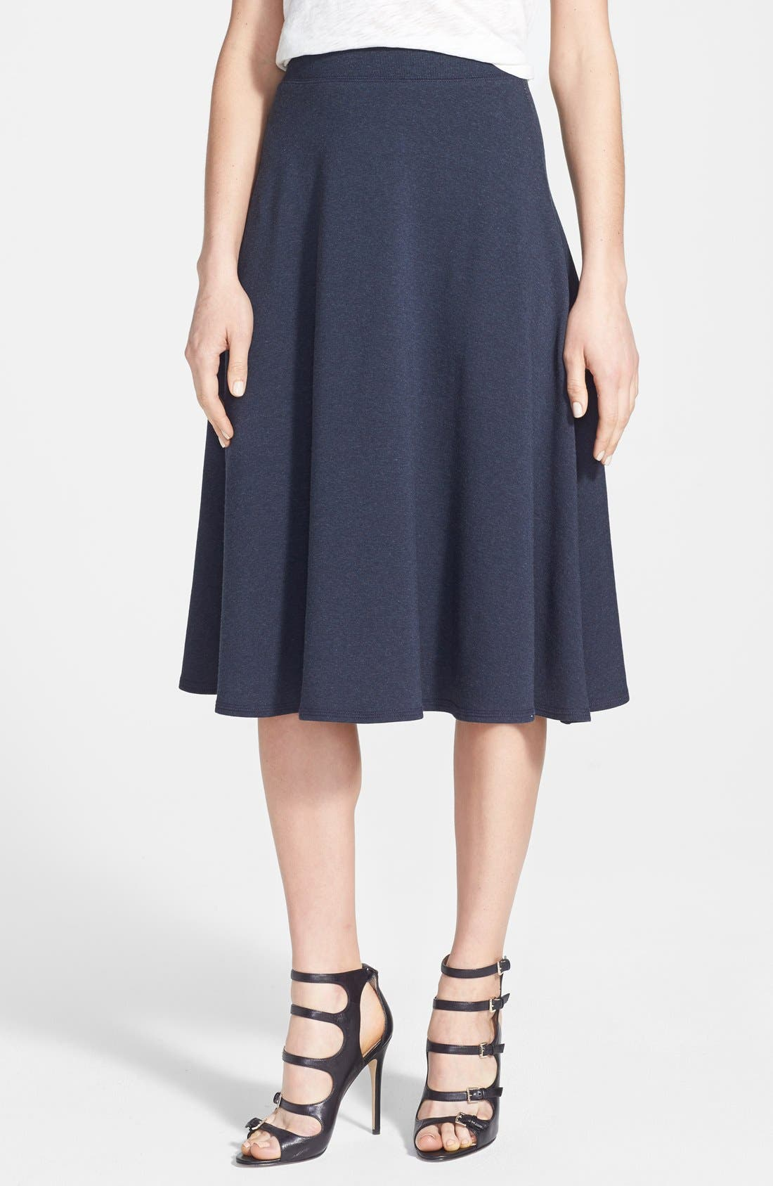 Alternate Image 1 Selected - Bailey 44 'Scotch Sour' French Terry A-Line Skirt