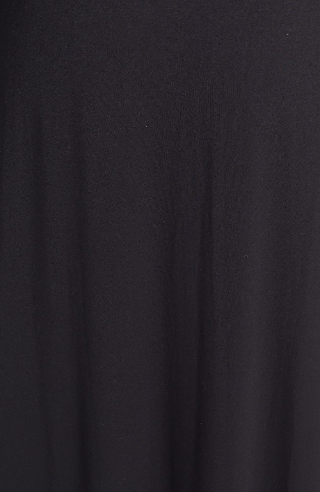 Alternate Image 3  - Sejour Stretch A-Line Maxi Skirt (Plus Size)